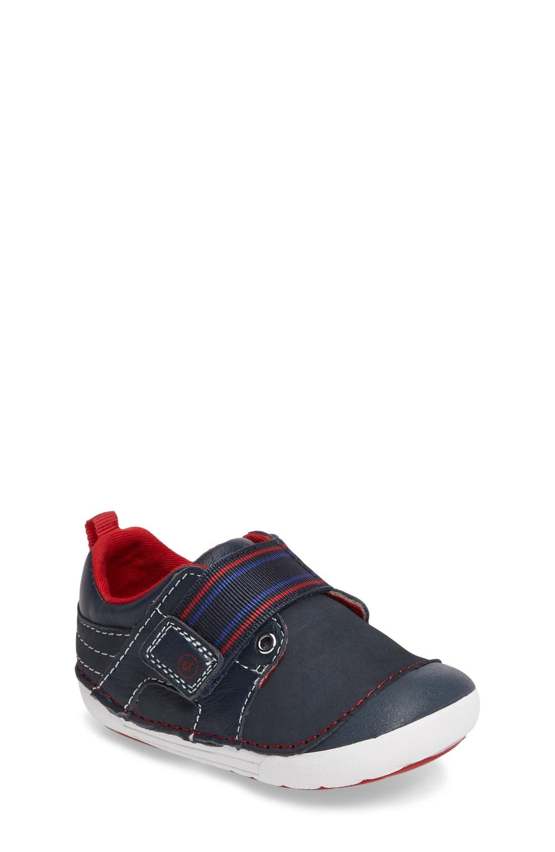 Soft Motion<sup>™</sup> Cameron Sneaker,                             Main thumbnail 1, color,                             Navy