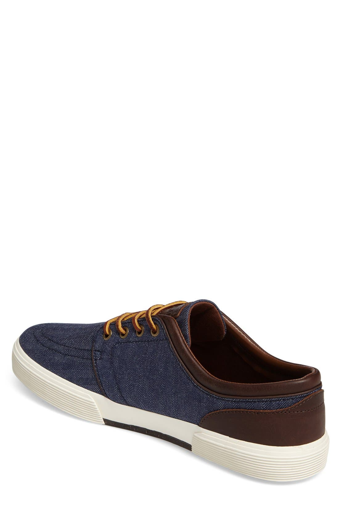 Alternate Image 2  - Polo Ralph Lauren 'Faxon Low' Sneaker (Men)