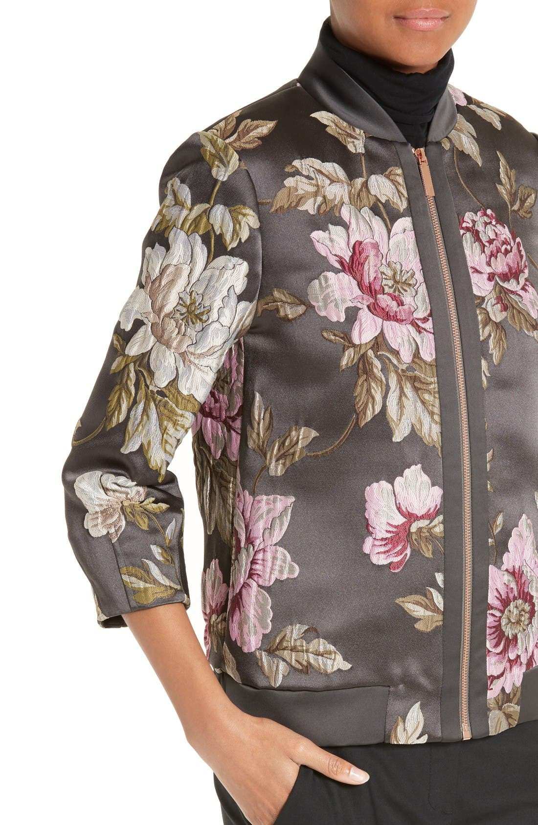 Alternate Image 4  - Ted Baker London Hartye Bomber Jacket