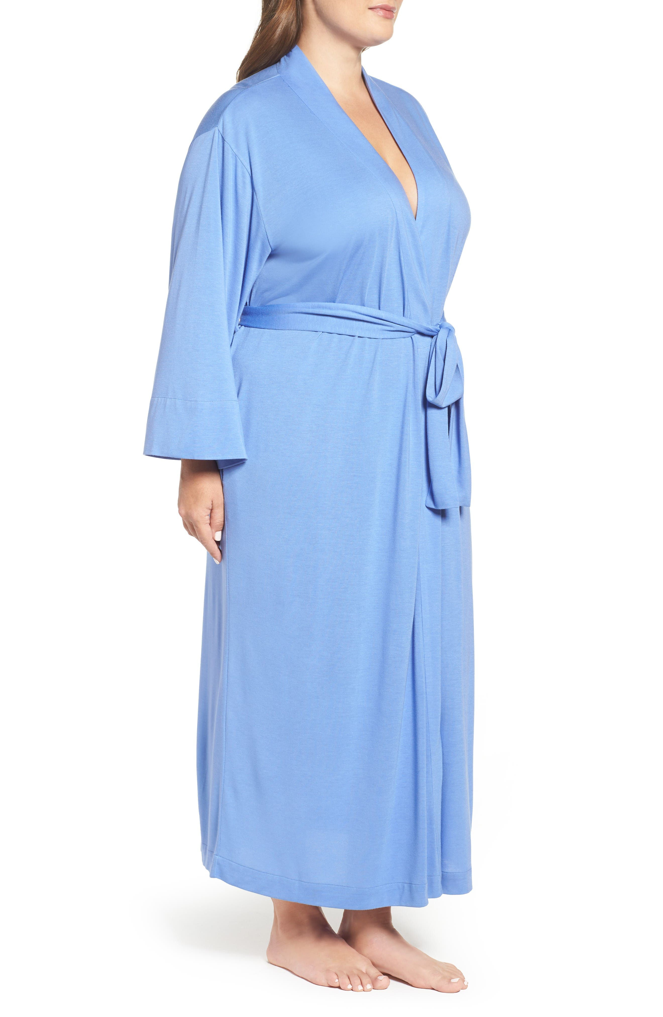 Alternate Image 3  - Natori 'Shangri-La' Robe (Plus Size)
