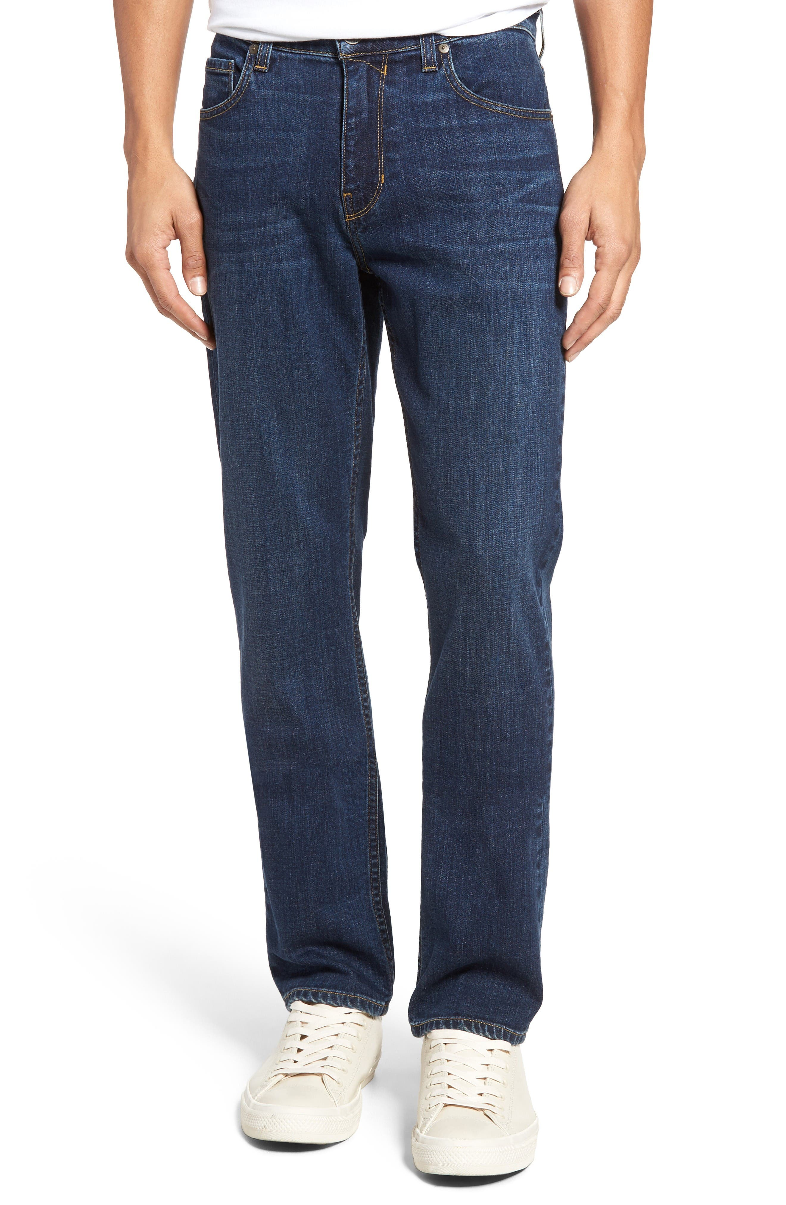 Main Image - PAIGE Normandie Straight Leg Jeans (Angelo)