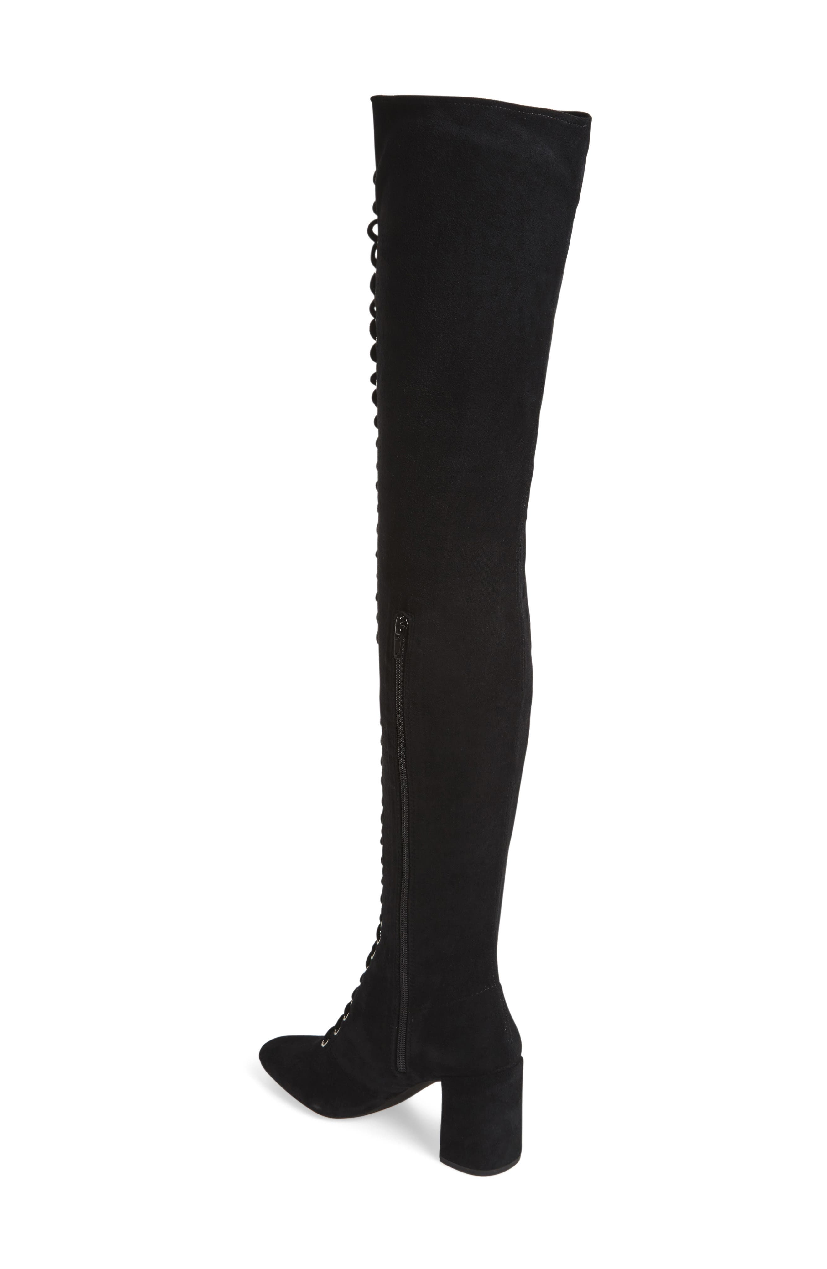 Alternate Image 2  - Jeffrey Campbell Wilshire-2 Thigh High Lace-Up Boot (Women)