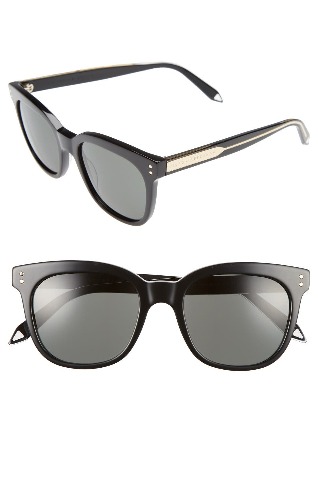 Alternate Image 1 Selected - Victoria Beckham The VB 52mm Retro Sunglasses