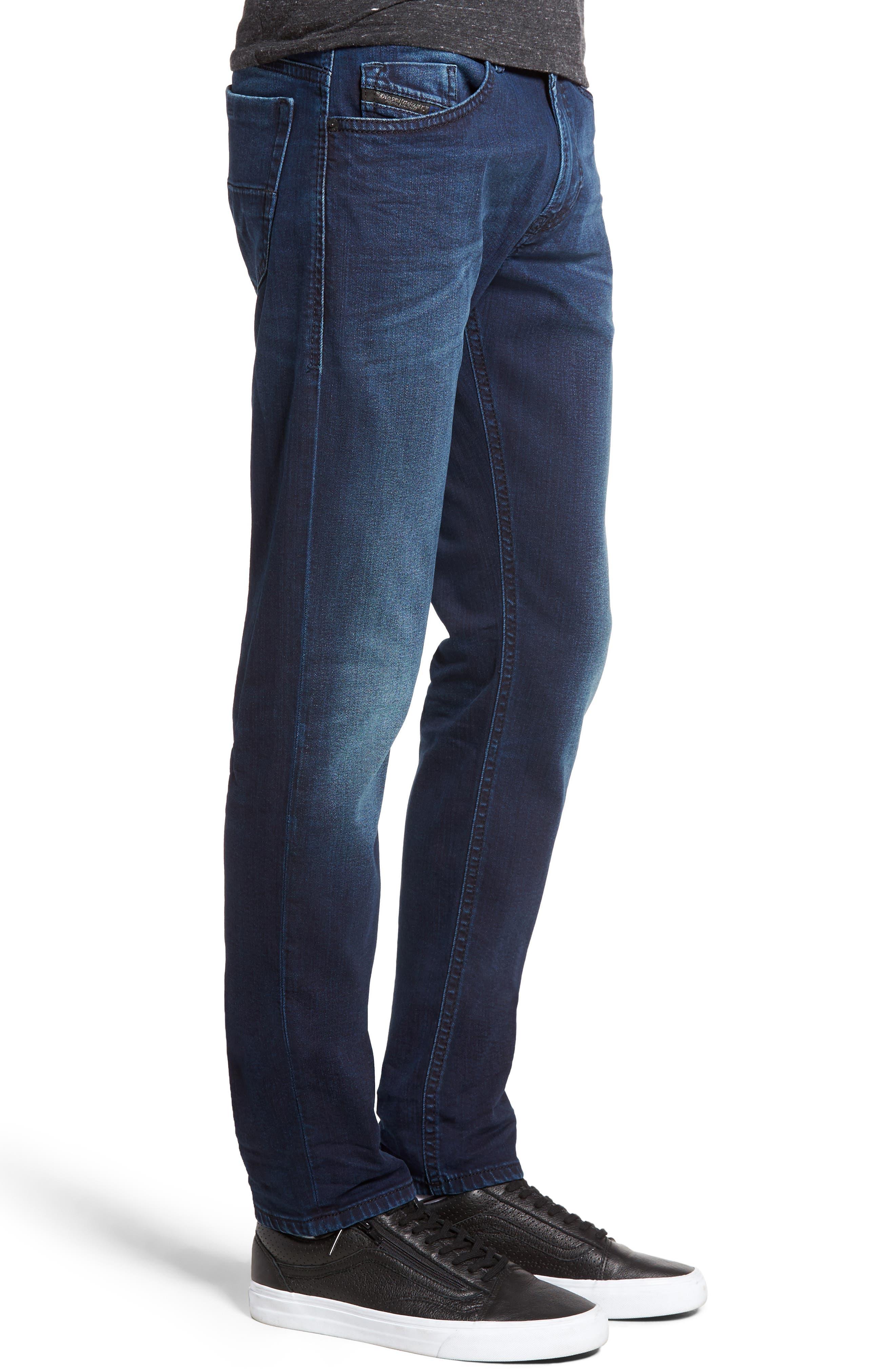 Alternate Image 3  - DIESEL® Thommer Skinny Fit Jeans (084BV)