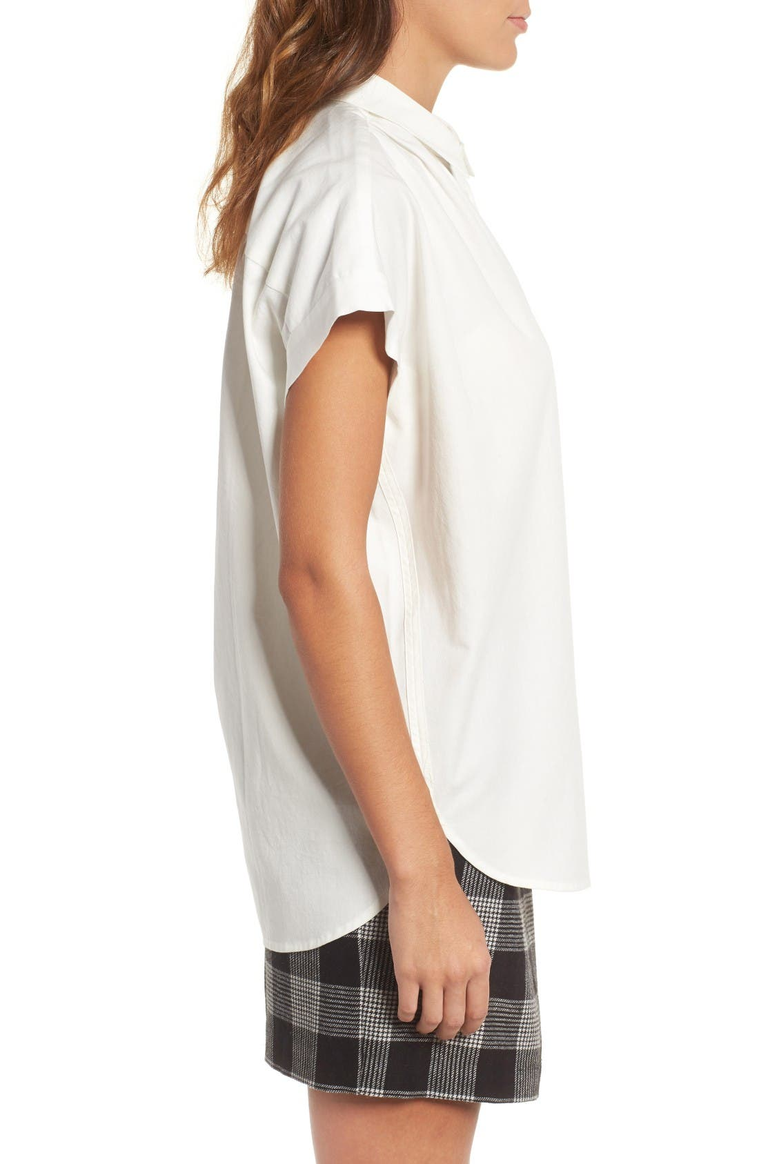 Alternate Image 3  - Madewell Central Blouse