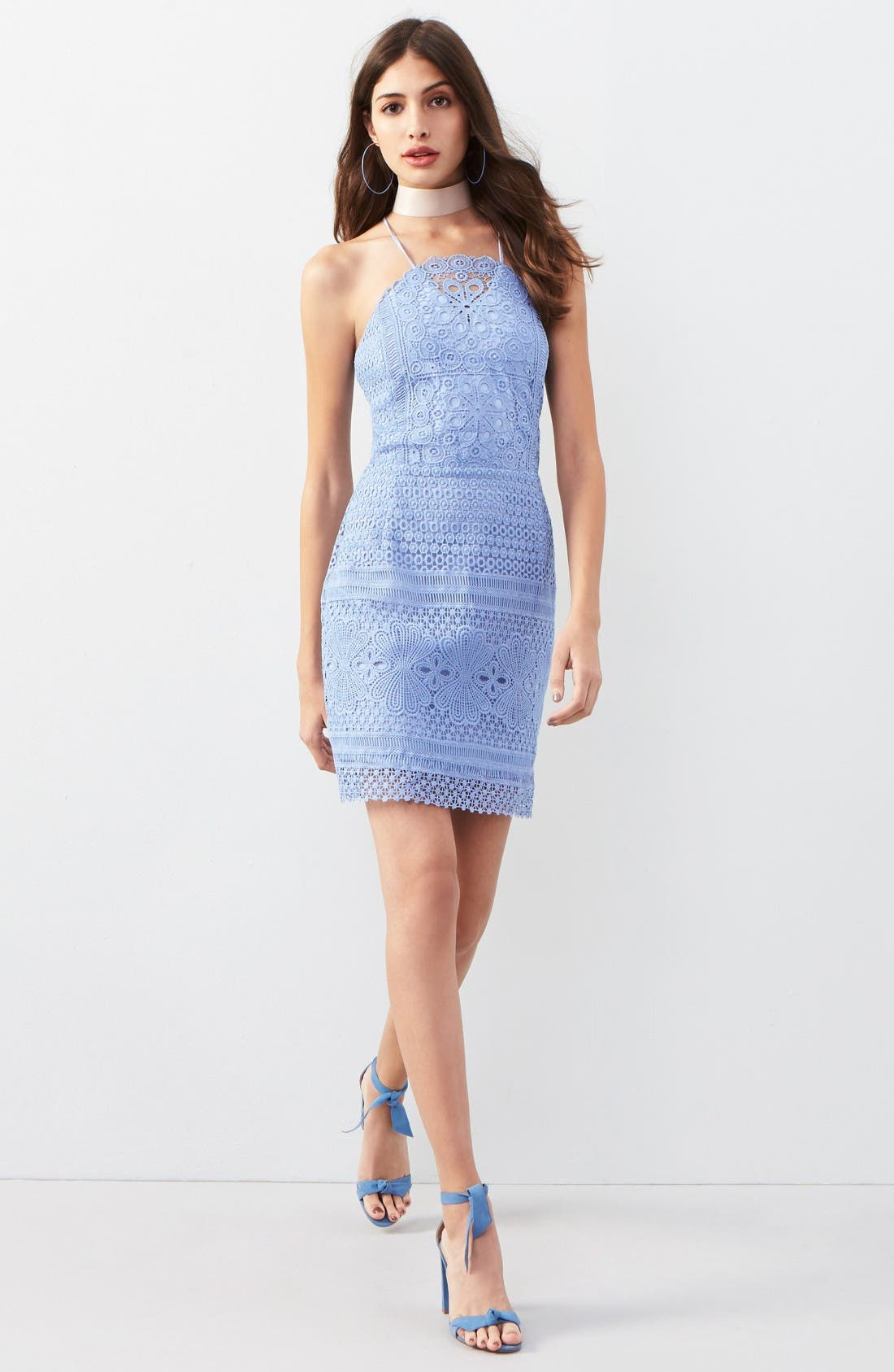 Alternate Image 2  - Greylin Lace Sheath Dress