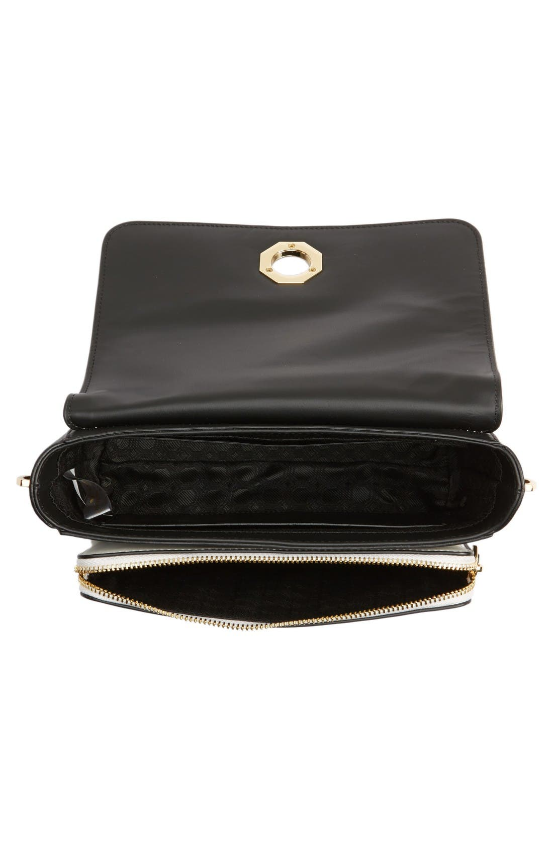 Alternate Image 4  - Louise et Cie 'Small Alis' Leather Crossbody Bag