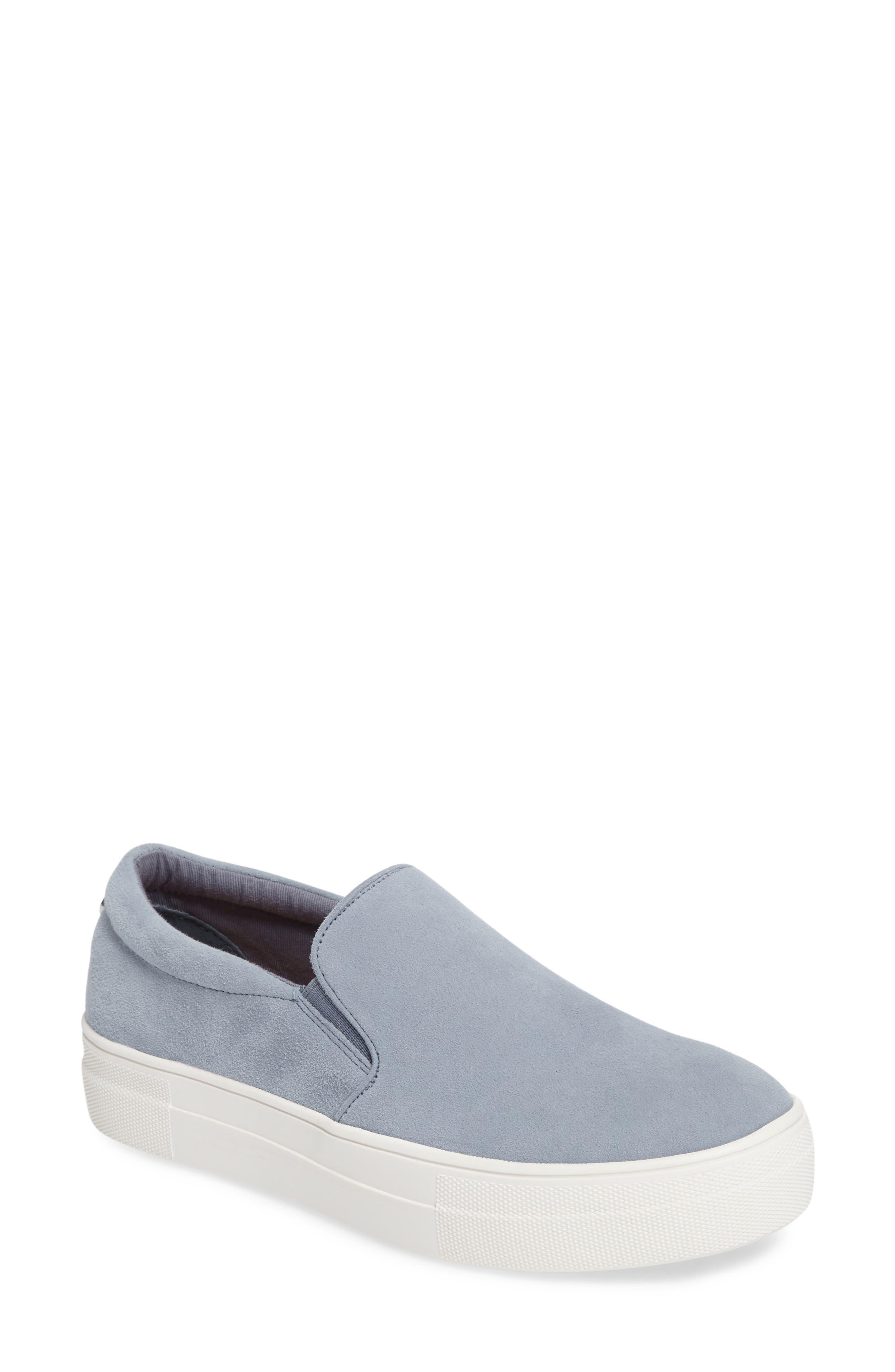 Gills Platform Slip-On Sneaker,                             Main thumbnail 1, color,                             Light Blue