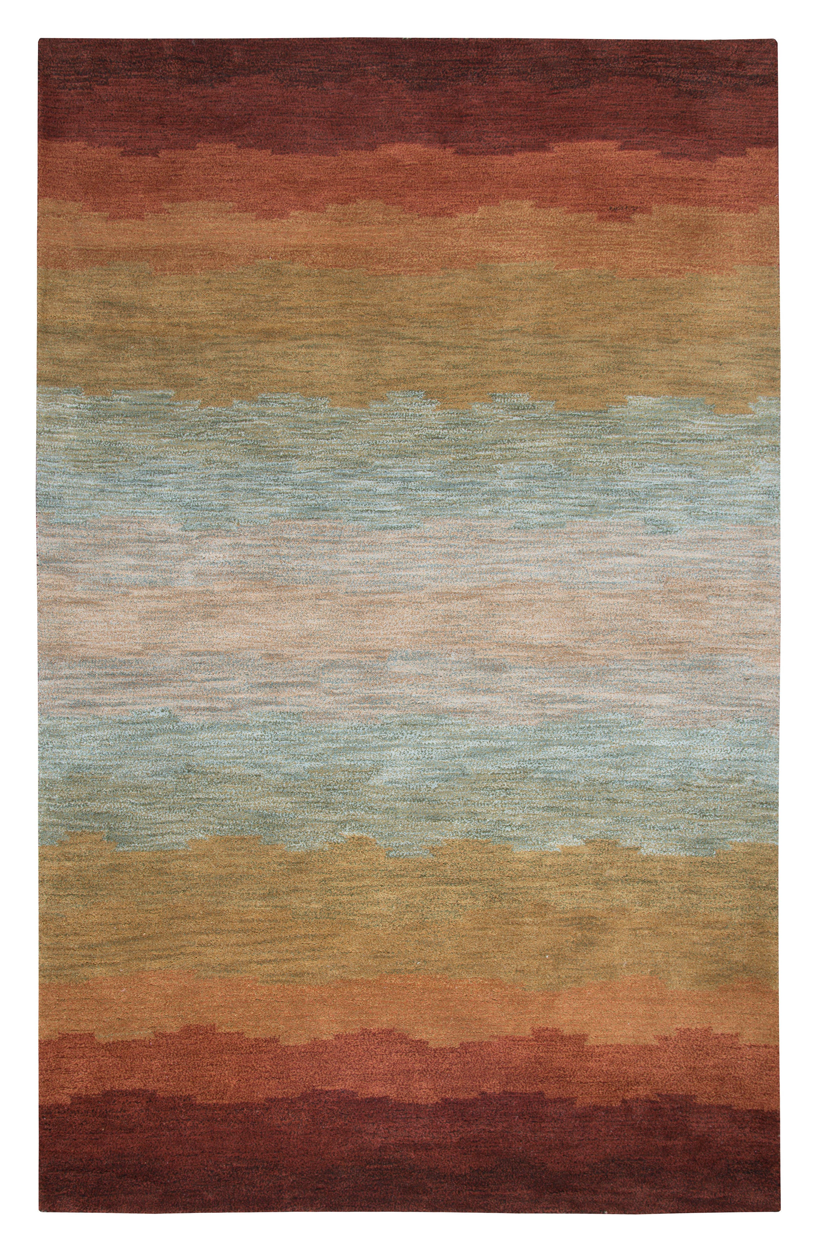 Alternate Image 1 Selected - Rizzy Home Desert Oasis Hand Tufted Wool Area Rug