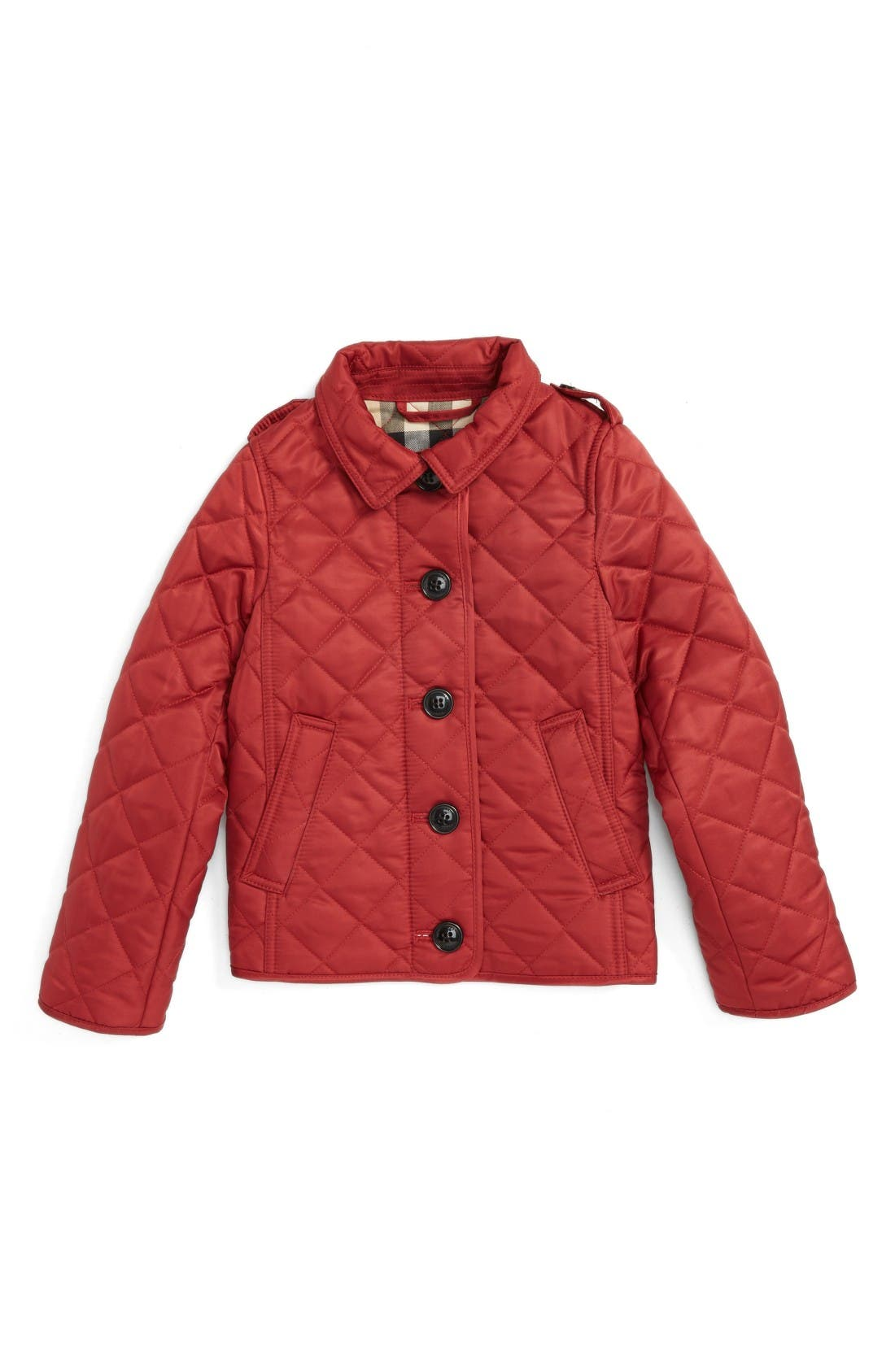 Burberry Ashurst Quilted Jacket (Toddler Girls)