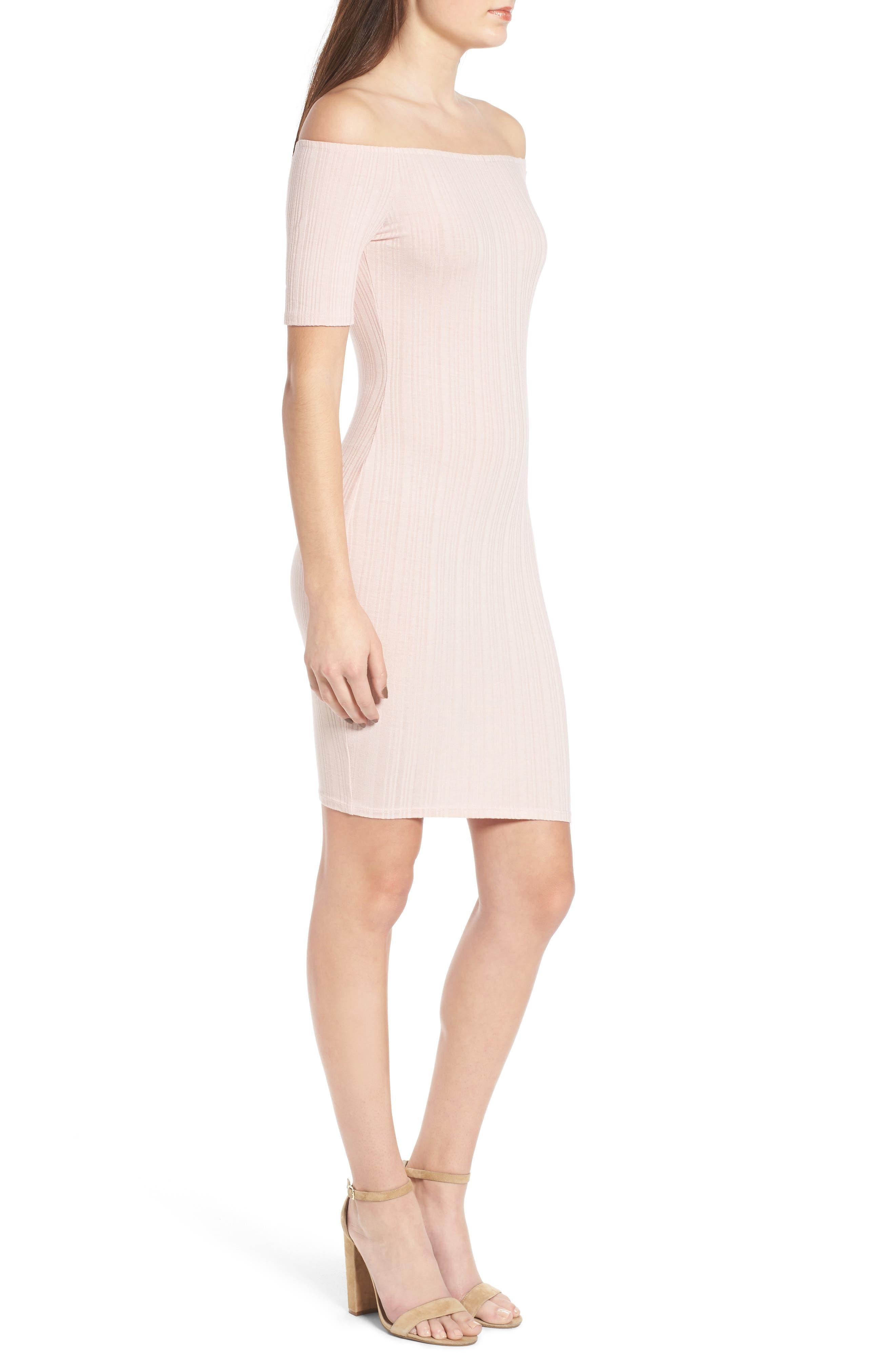 Alternate Image 3  - Michelle by Comune Bellmead Off-the-Shoulder Dress