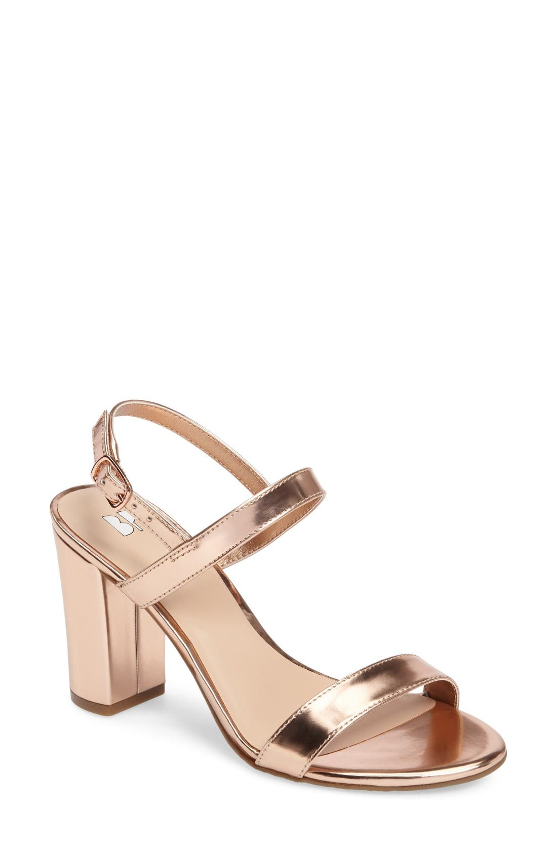 Lula Block Heel Slingback Sandal (Women). Previous. ROSE GOLD ...