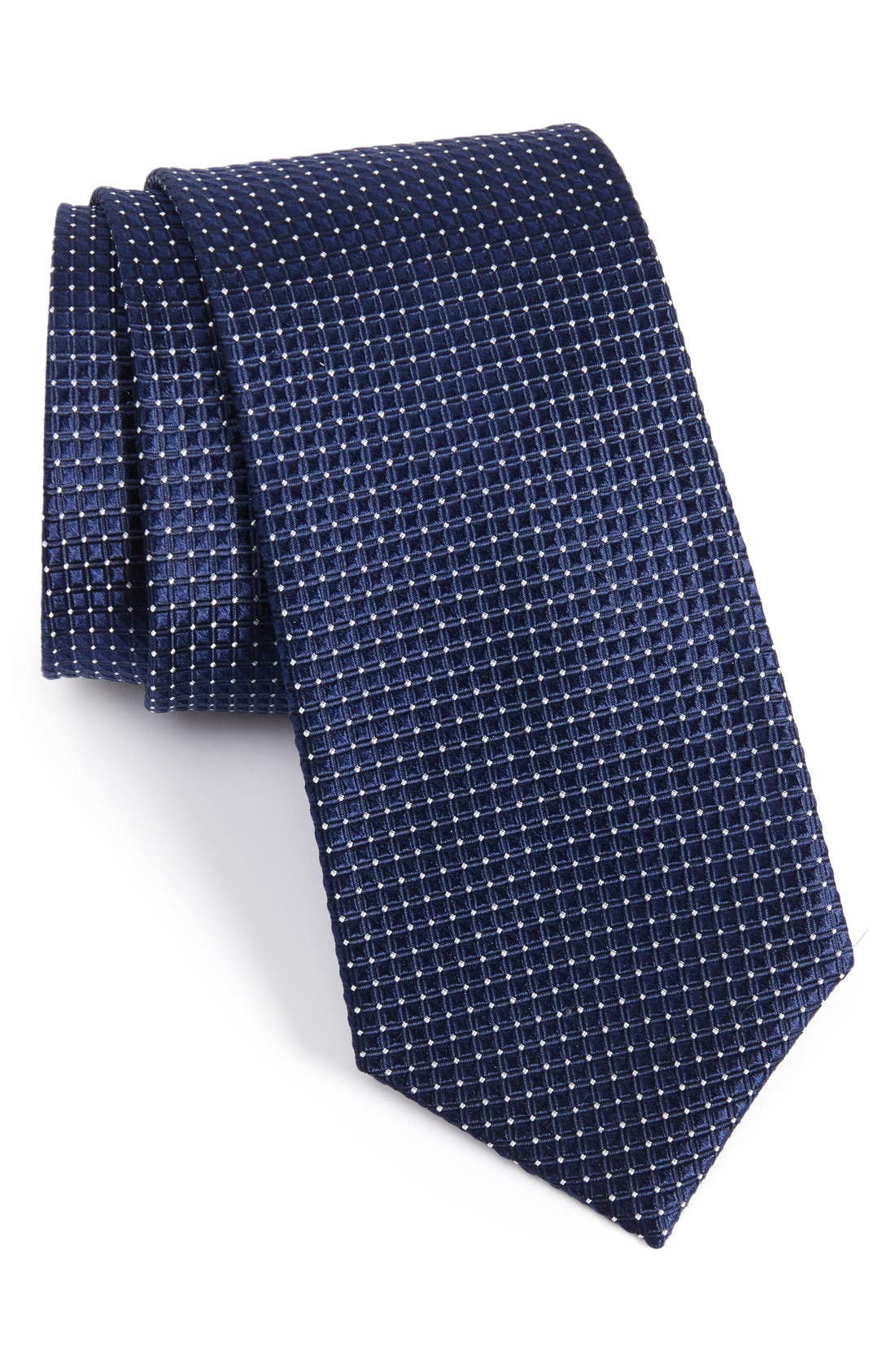 NORDSTROM MENS SHOP Geometric Silk Tie