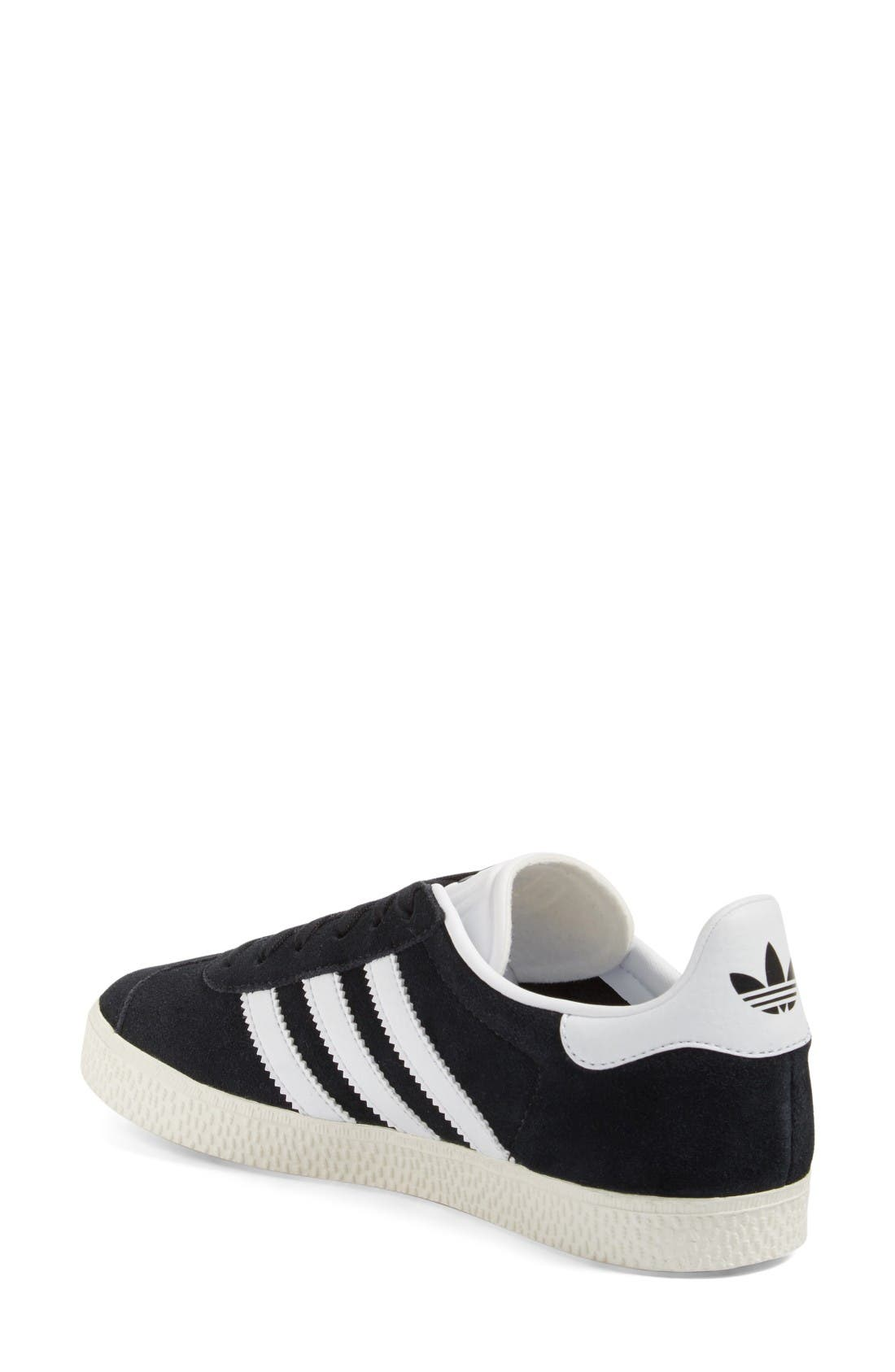 Gazelle Sneaker,                             Alternate thumbnail 2, color,                             Core Black