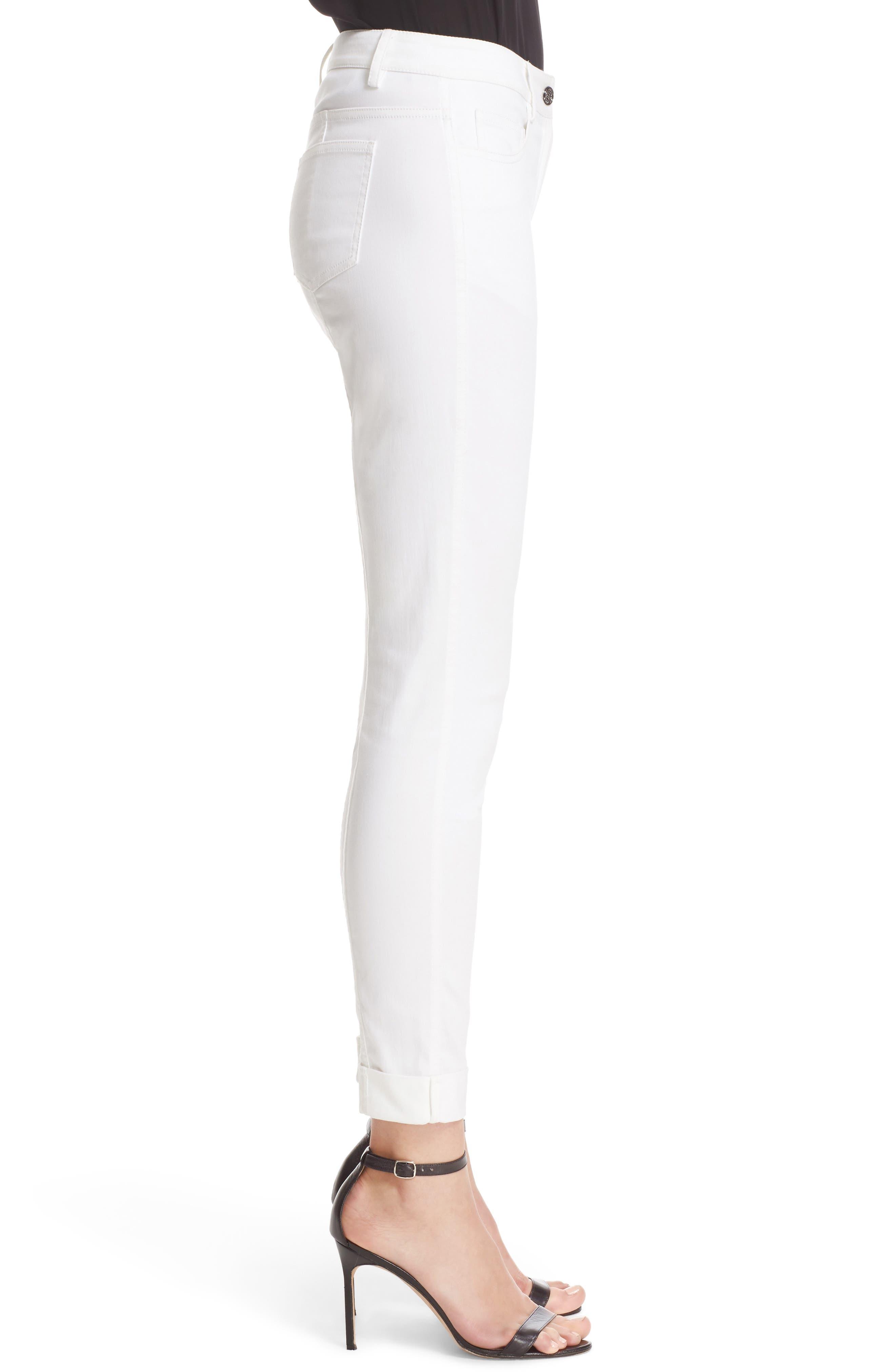 Alternate Image 5  - St. John Sport Collection Bardot Slim Capri Jeans