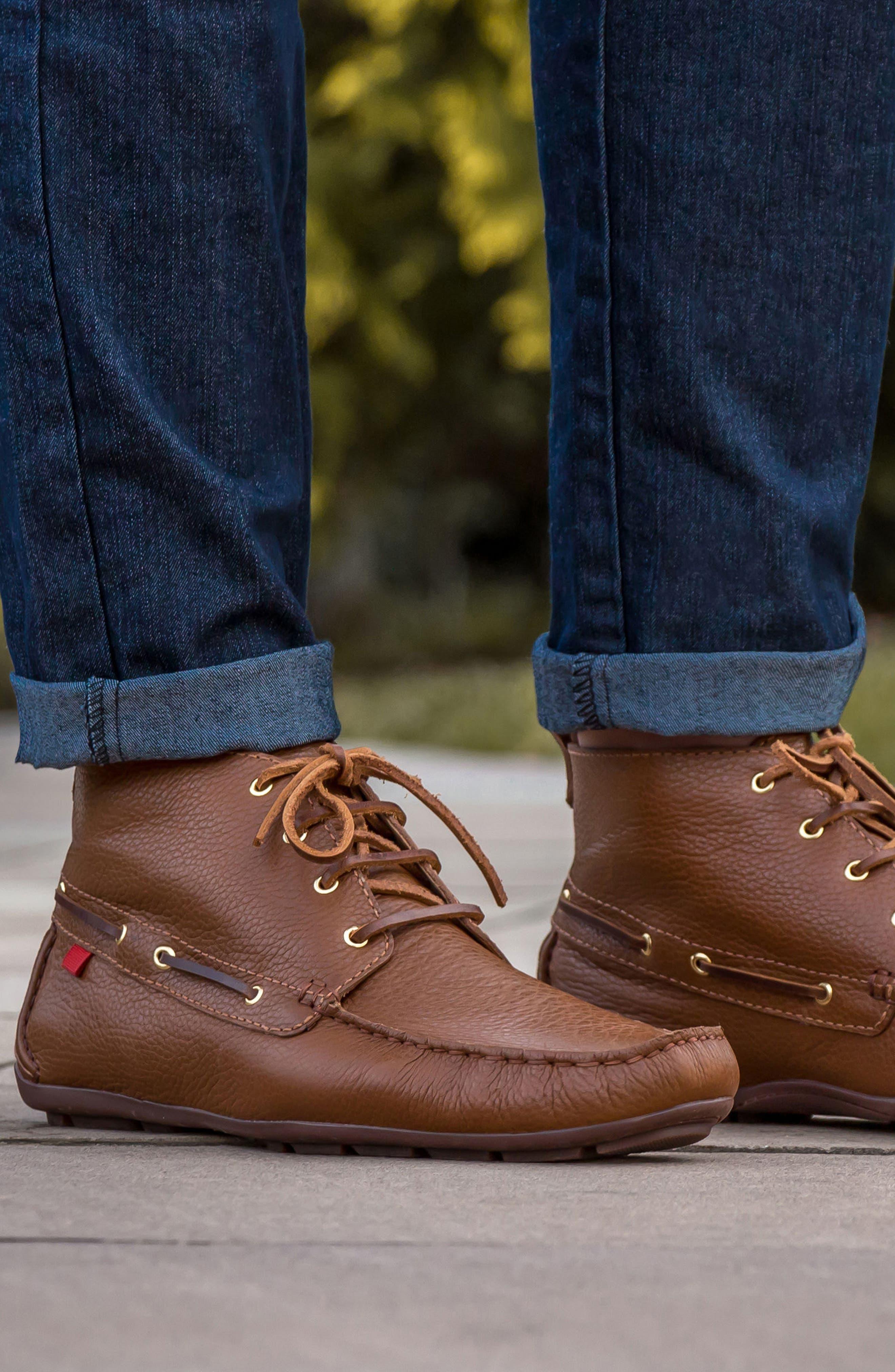 'Soho' Boot,                             Alternate thumbnail 5, color,                             Cognac Leather
