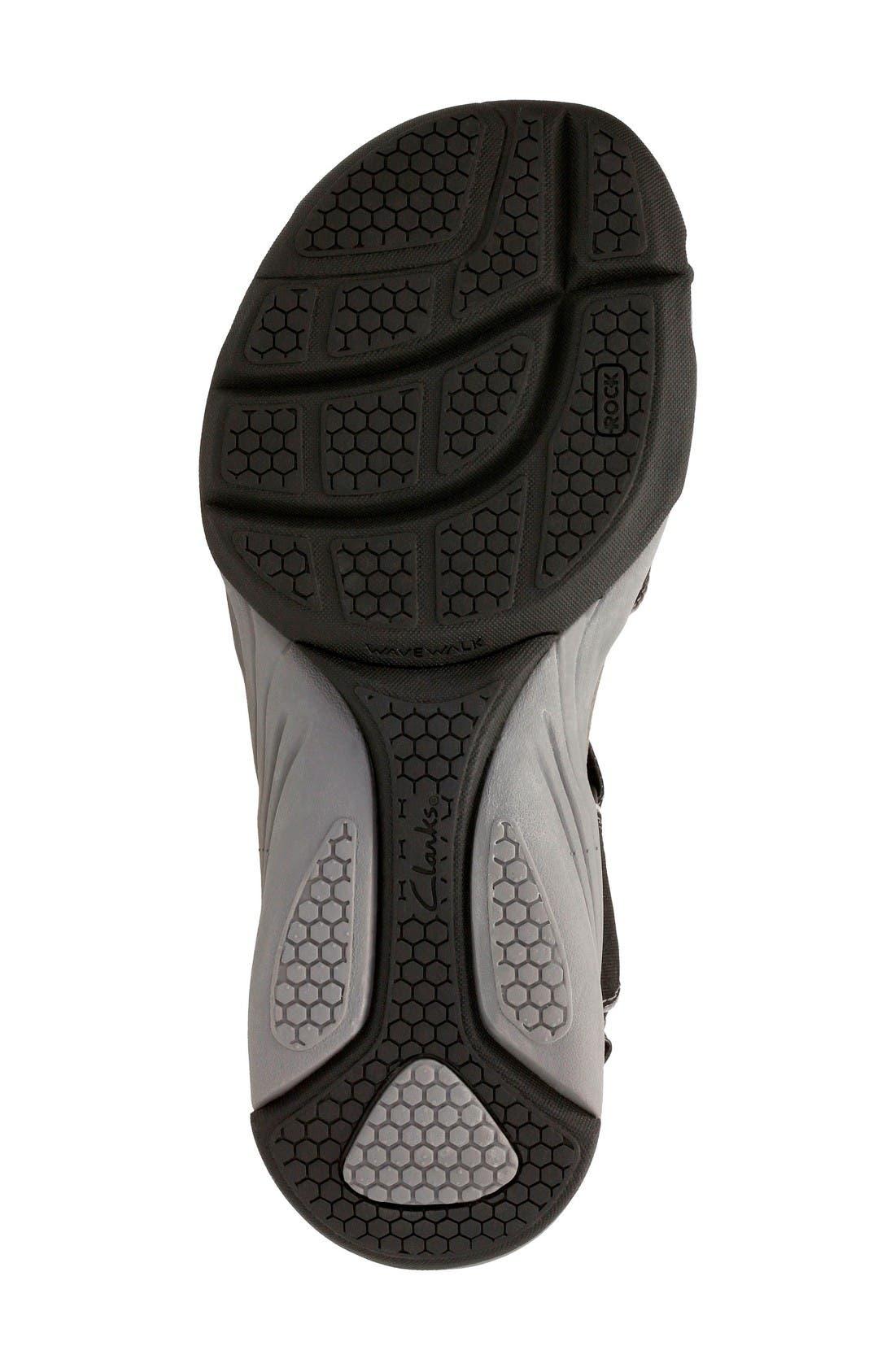 Alternate Image 5  - Clarks® Wave Grip Sandal (Women)