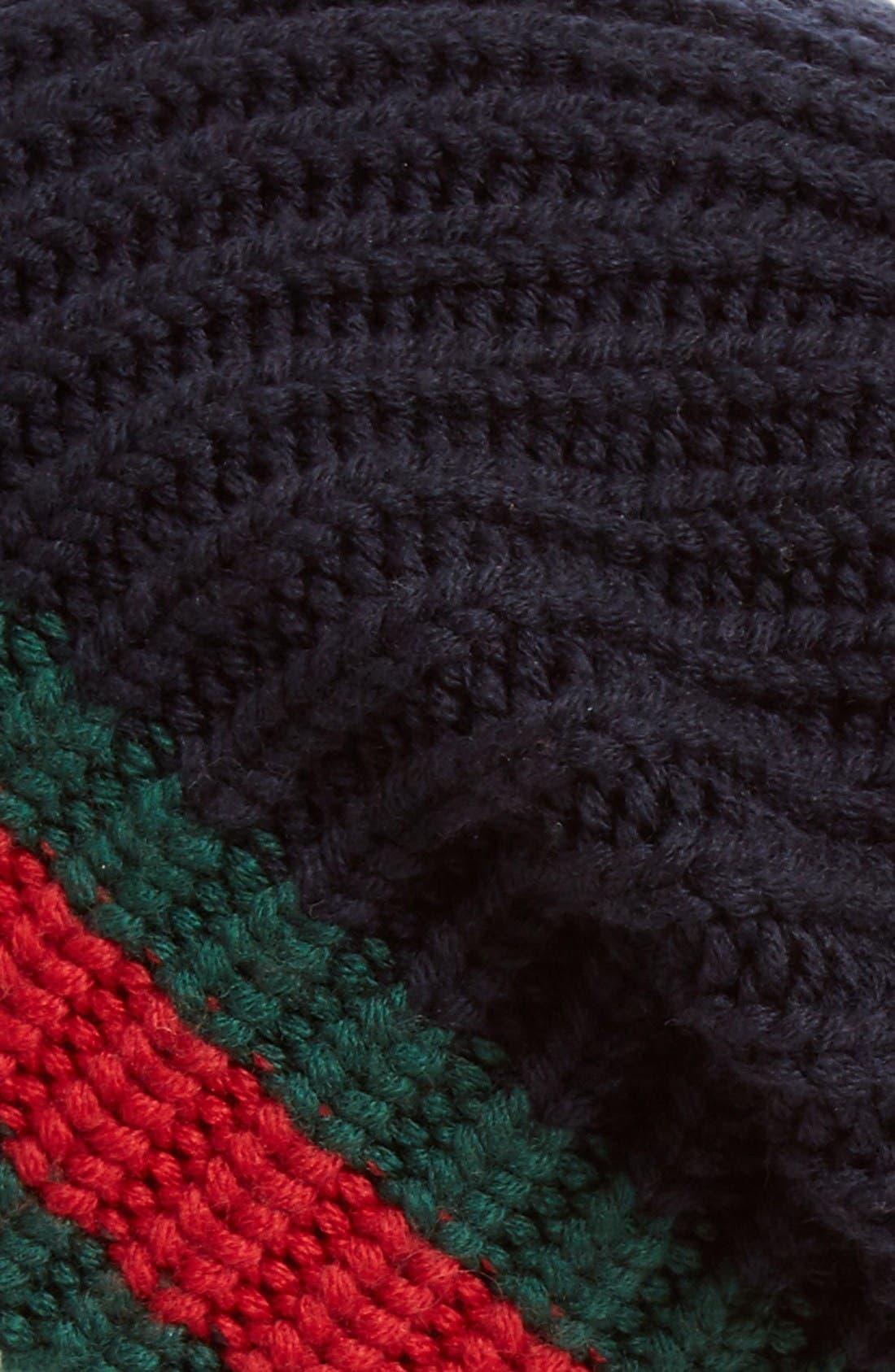 Alternate Image 2  - Gucci Stripe Wool Beanie