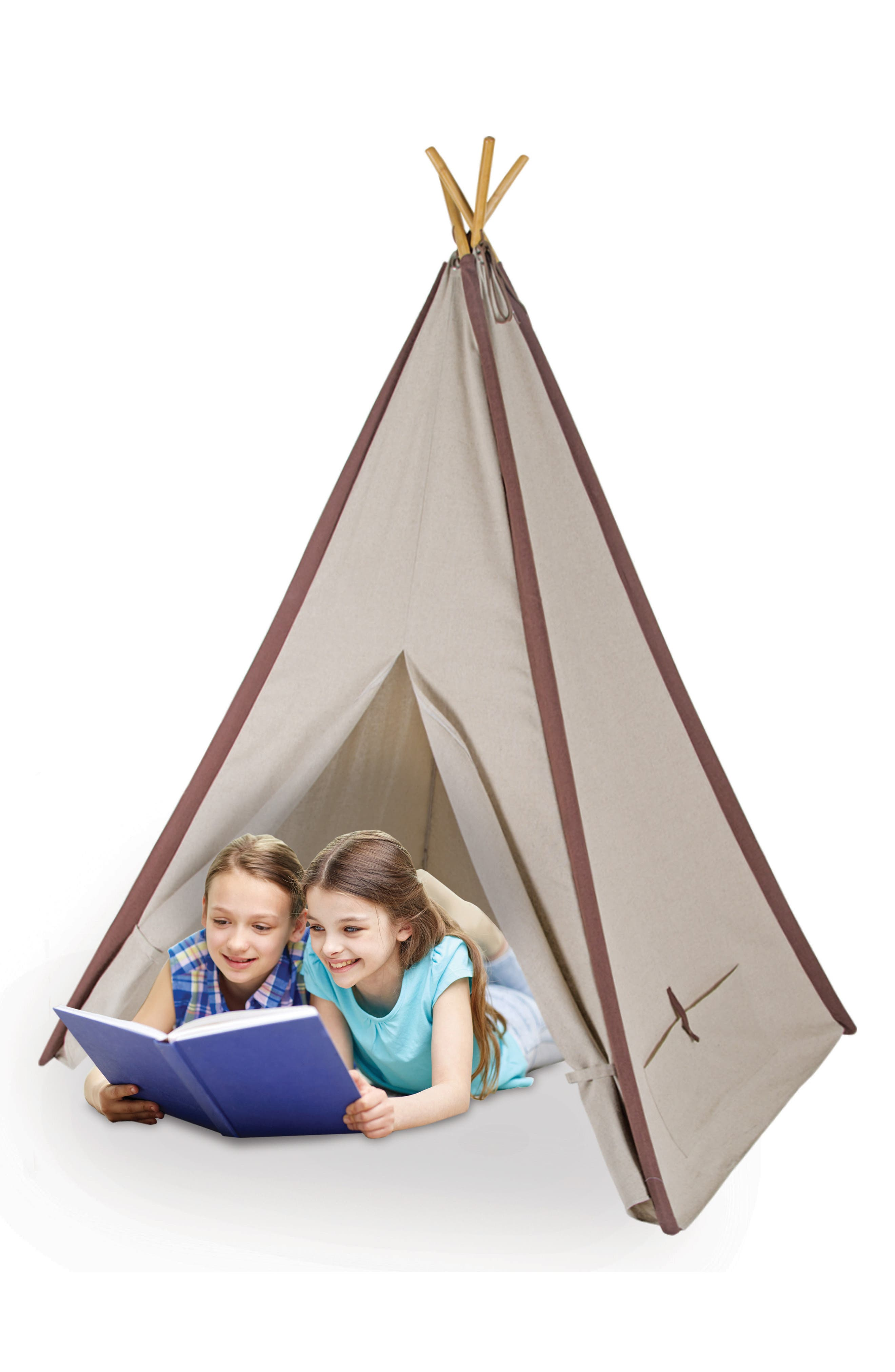 Alternate Image 3  - Pacific Play Tents Classic Linen Teepee