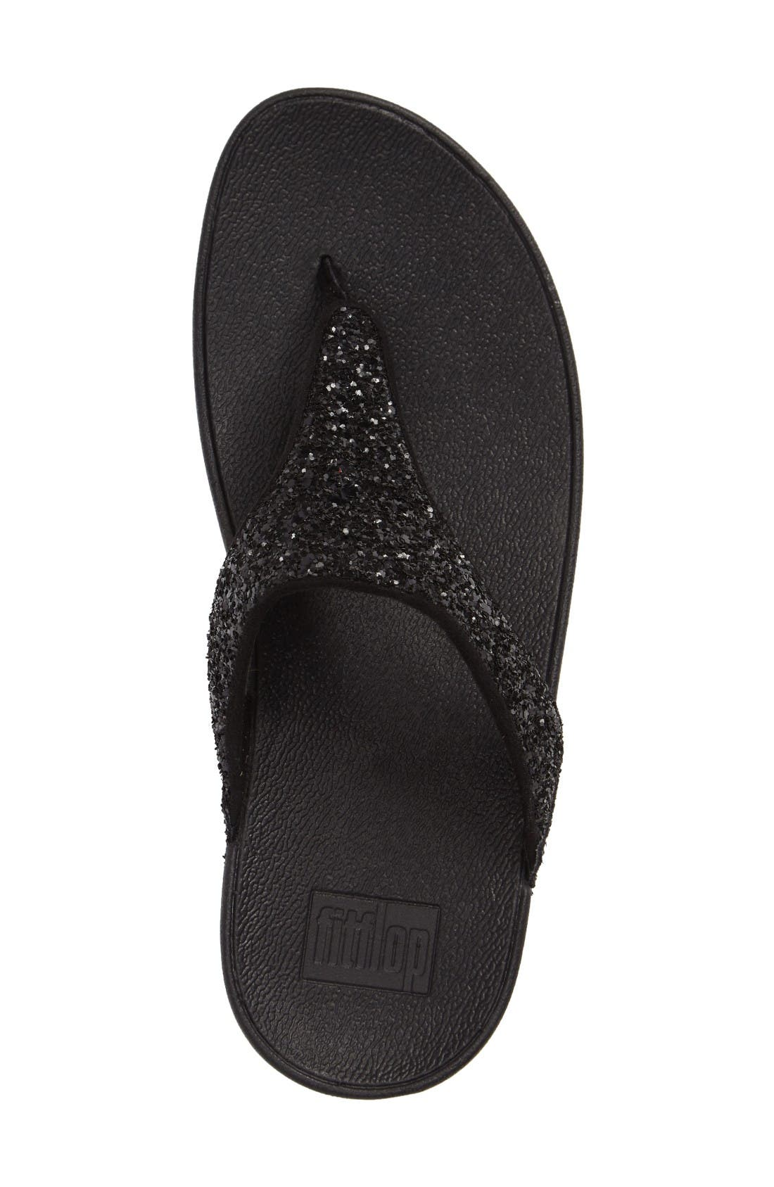 Alternate Image 3  - FitFlop Glitterball™ Thong Sandal (Women)