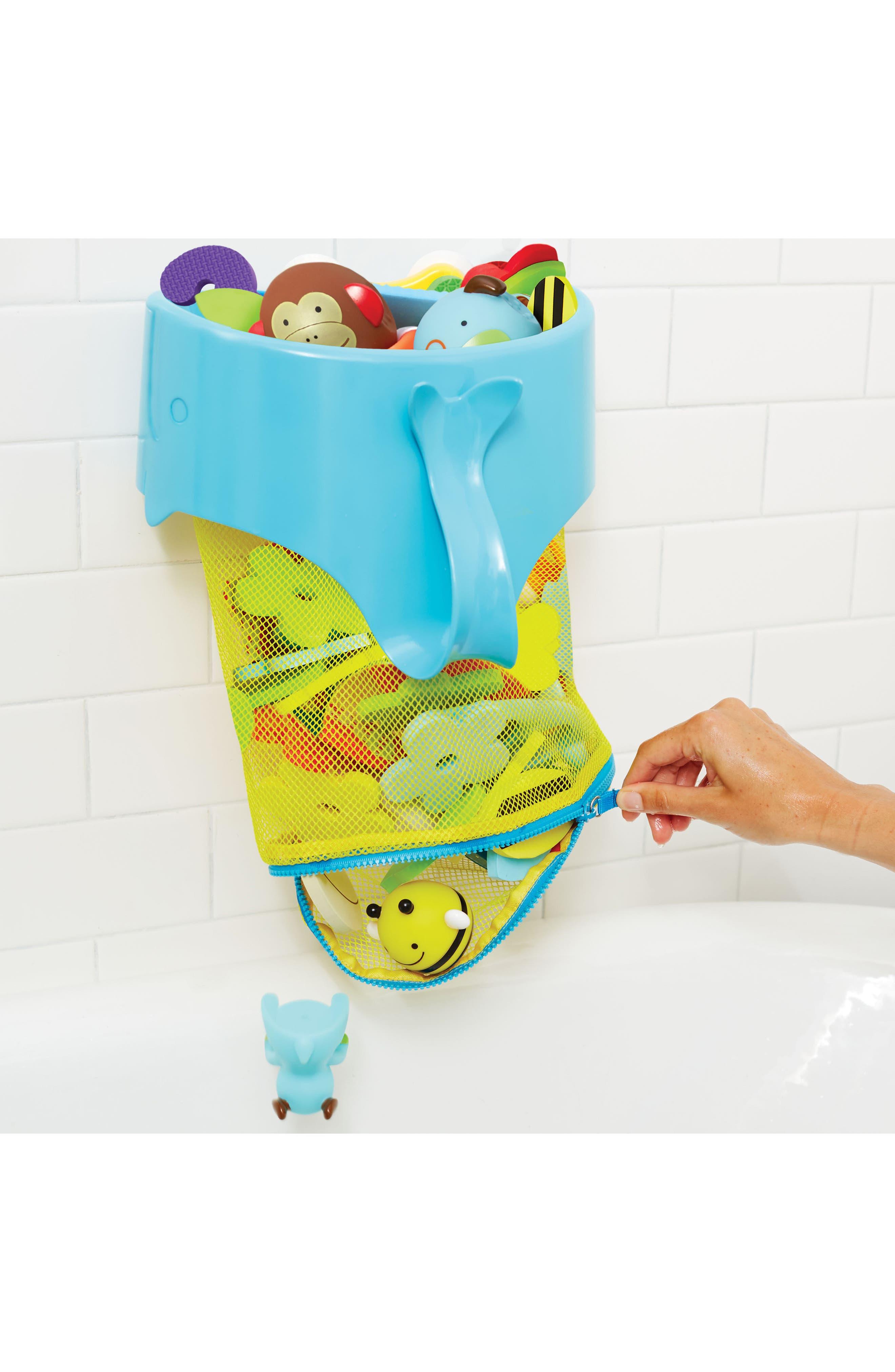 Alternate Image 5  - Skip Hop Moby Scoop & Splash Bath Toy Organizer