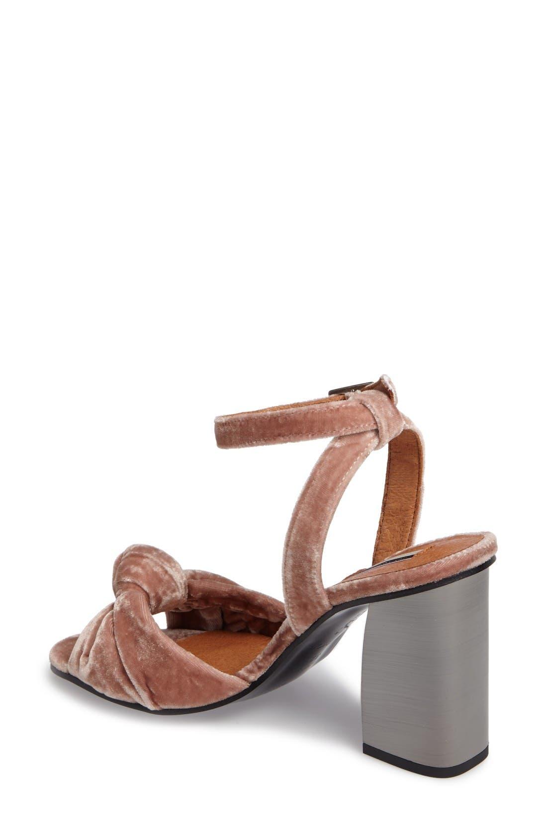Alternate Image 2  - Topshop Rocksy Ankle Strap Sandal (Women)