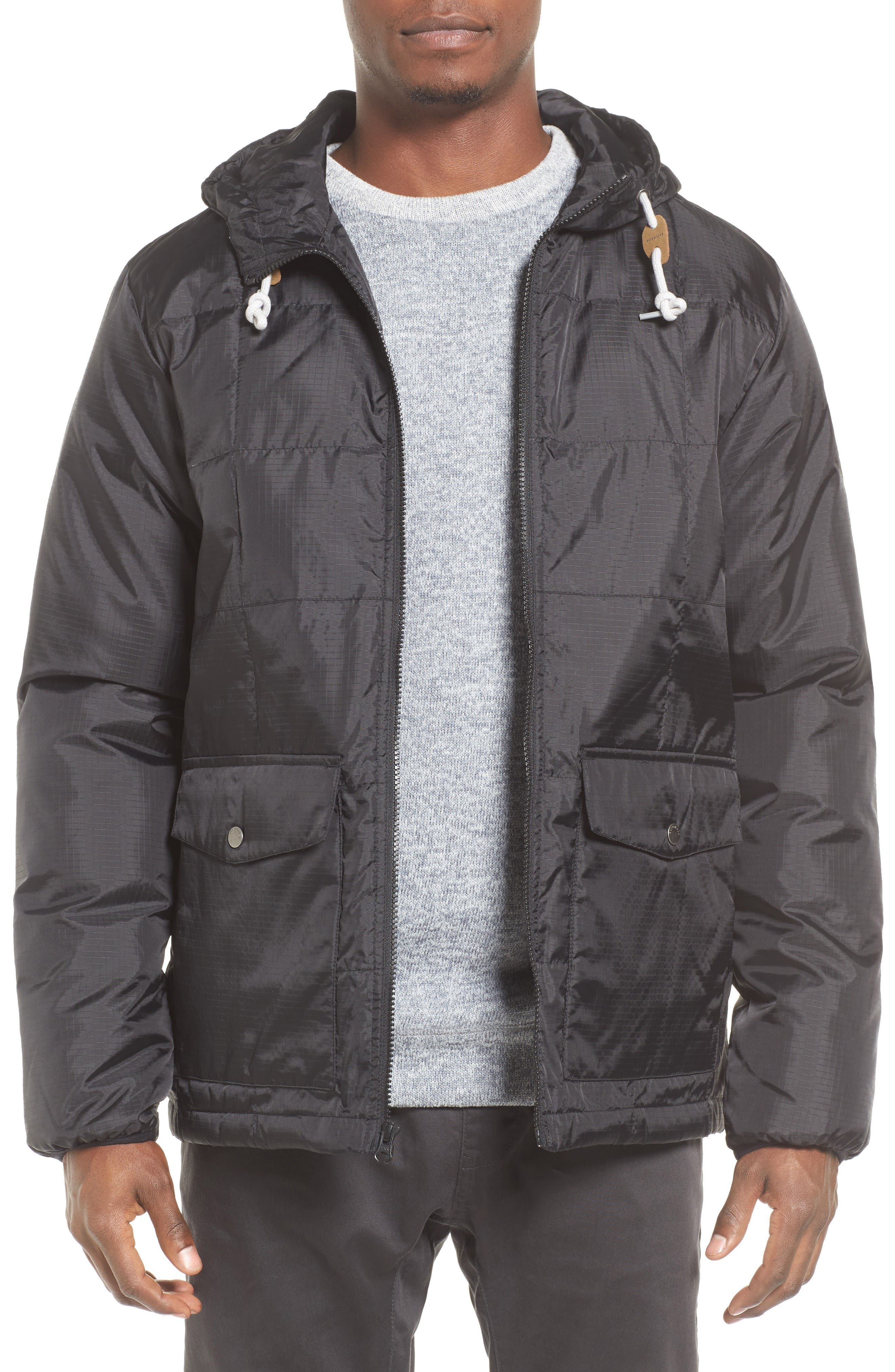Puffer Water-Repellent Jacket,                         Main,                         color, Black