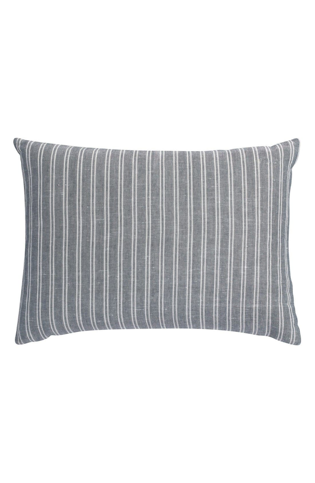 Alternate Image 1 Selected - Portico Park Ave Stripe Organic Cotton Accent Pillow