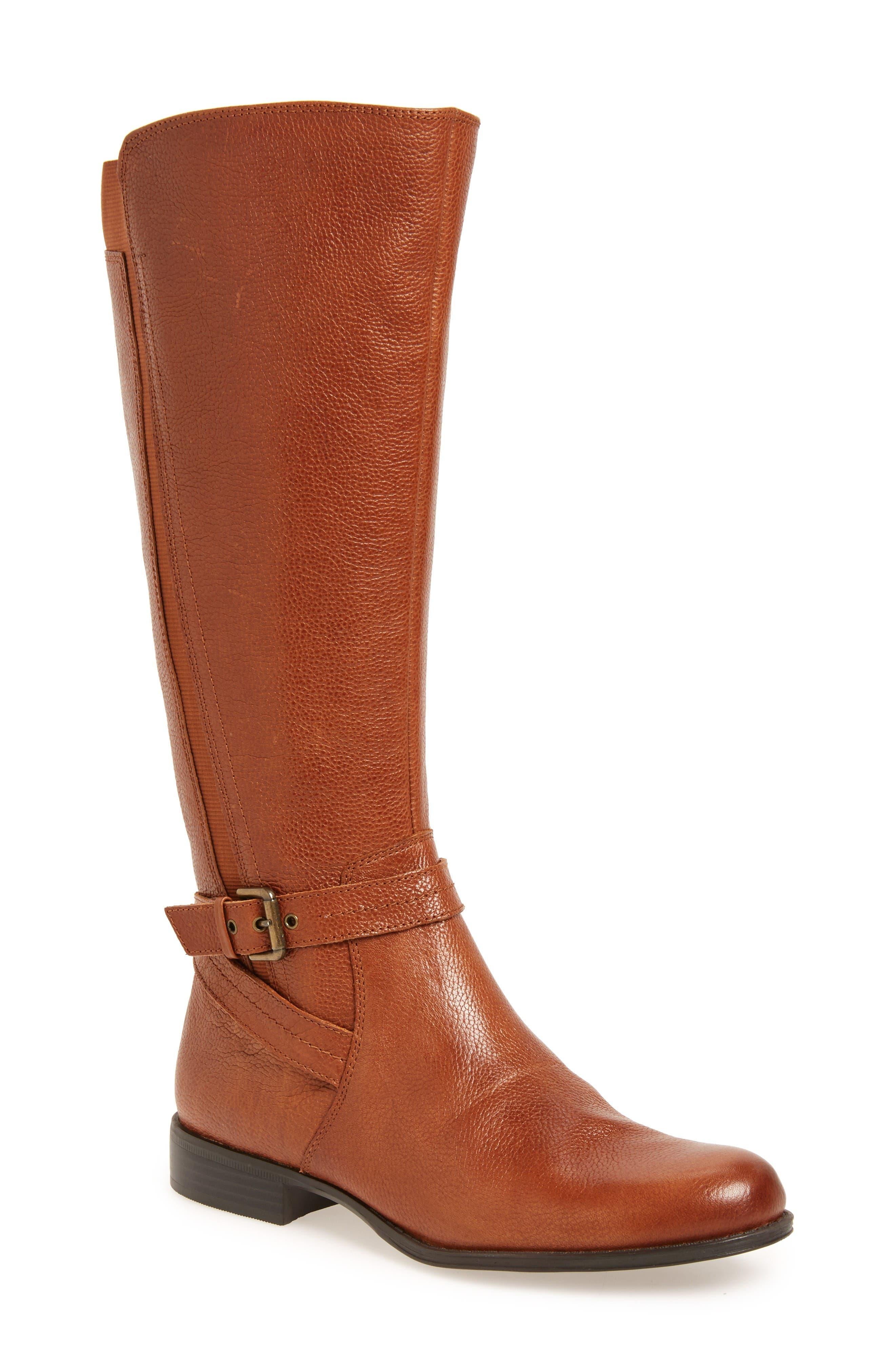 Alternate Image 1 Selected - Naturalizer 'Jelina' Riding Boot (Women)