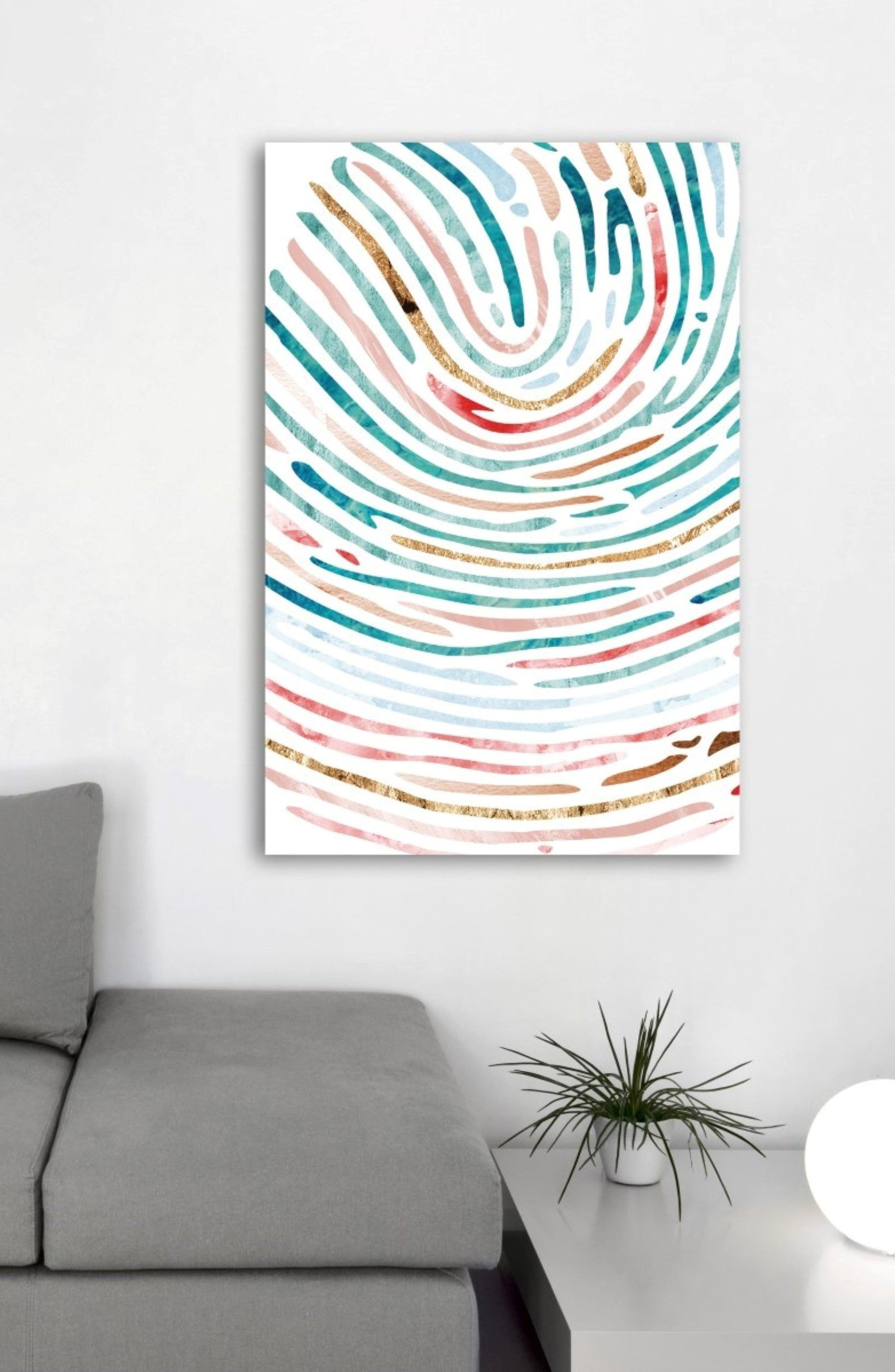 All Paths Spring Canvas Wall Art,                             Alternate thumbnail 2, color,                             Blue