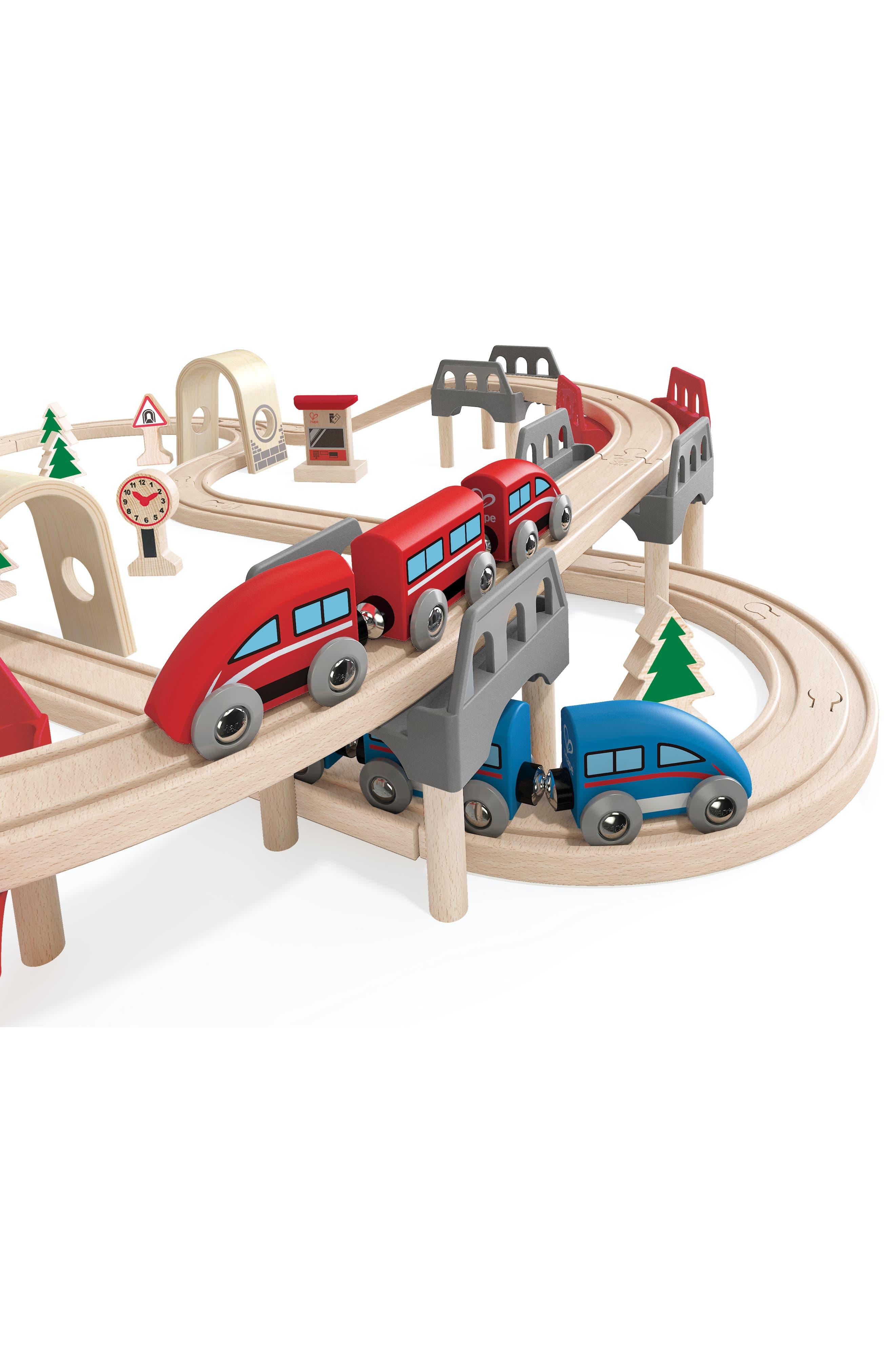 High & Low Railway Set,                             Alternate thumbnail 4, color,                             Multi
