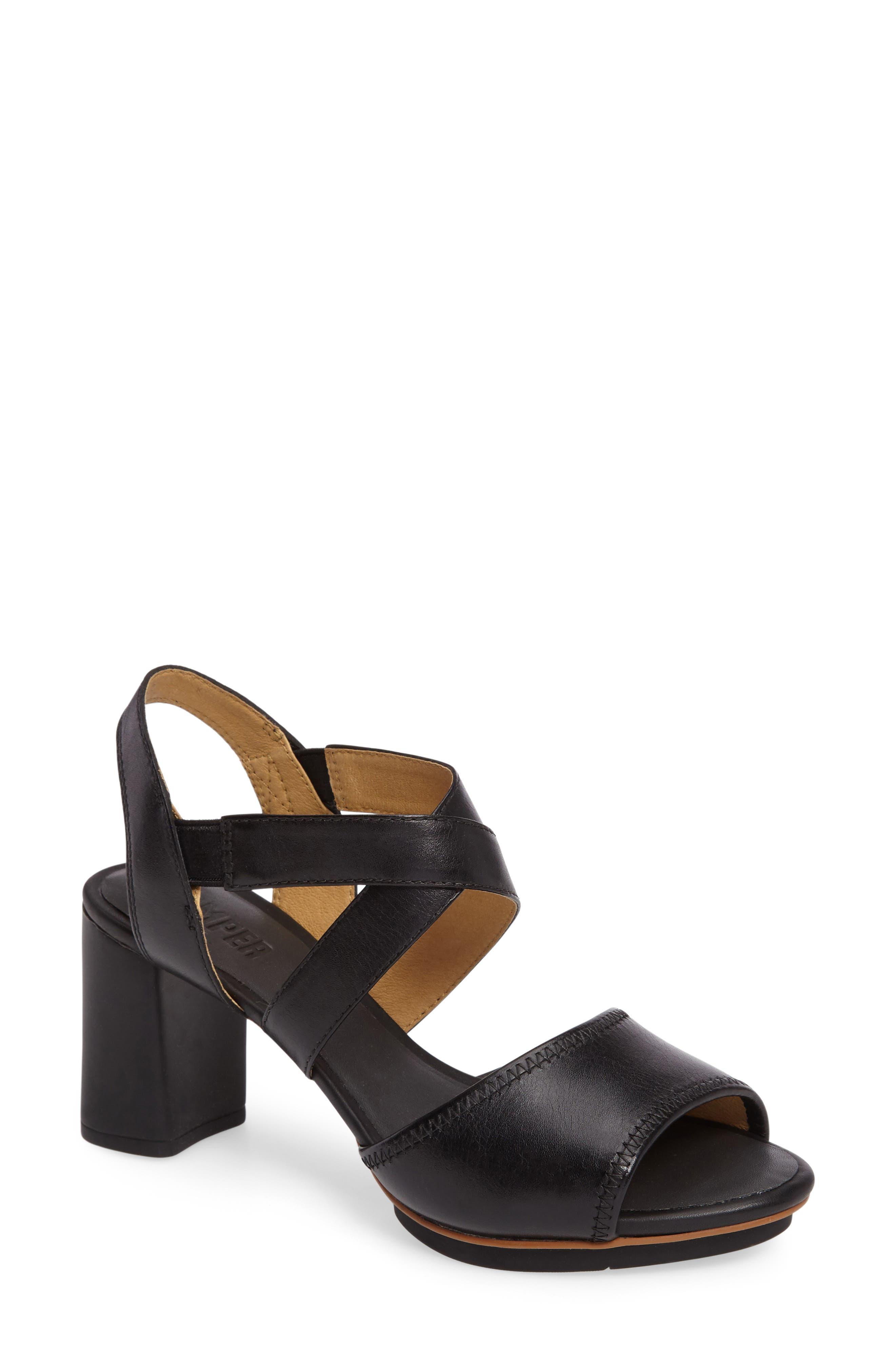 CAMPER Myriam Block Heel Sandal