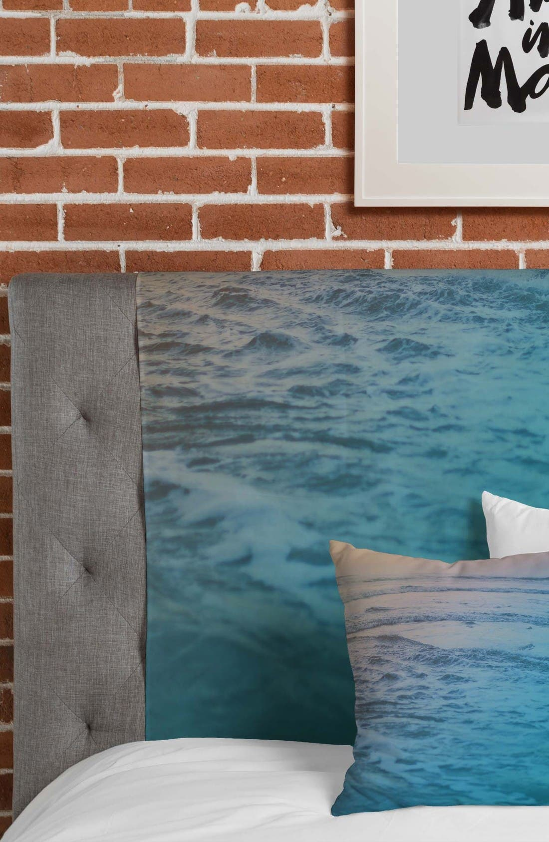 Cotton Candy Waves Tapestry,                             Alternate thumbnail 3, color,                             Blue/ Mutli