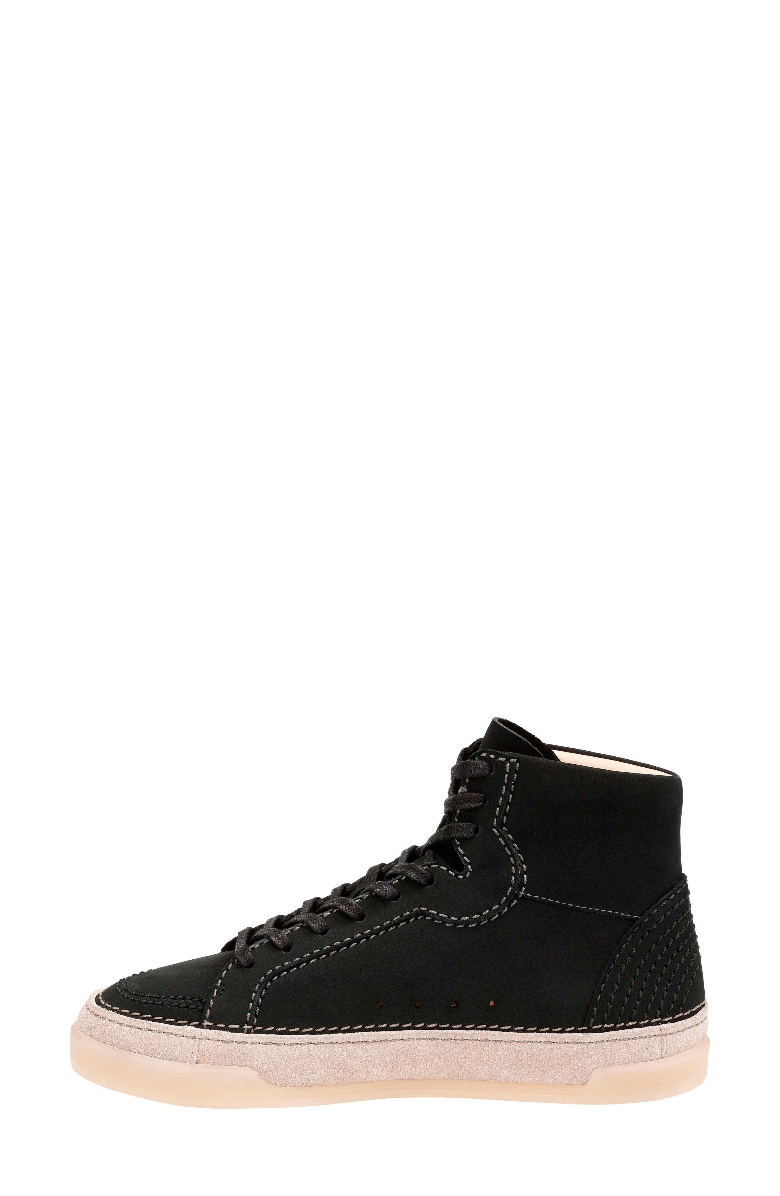 Alternate Image 2  - Clarks® Hidi Haze High Top Sneaker (Women)