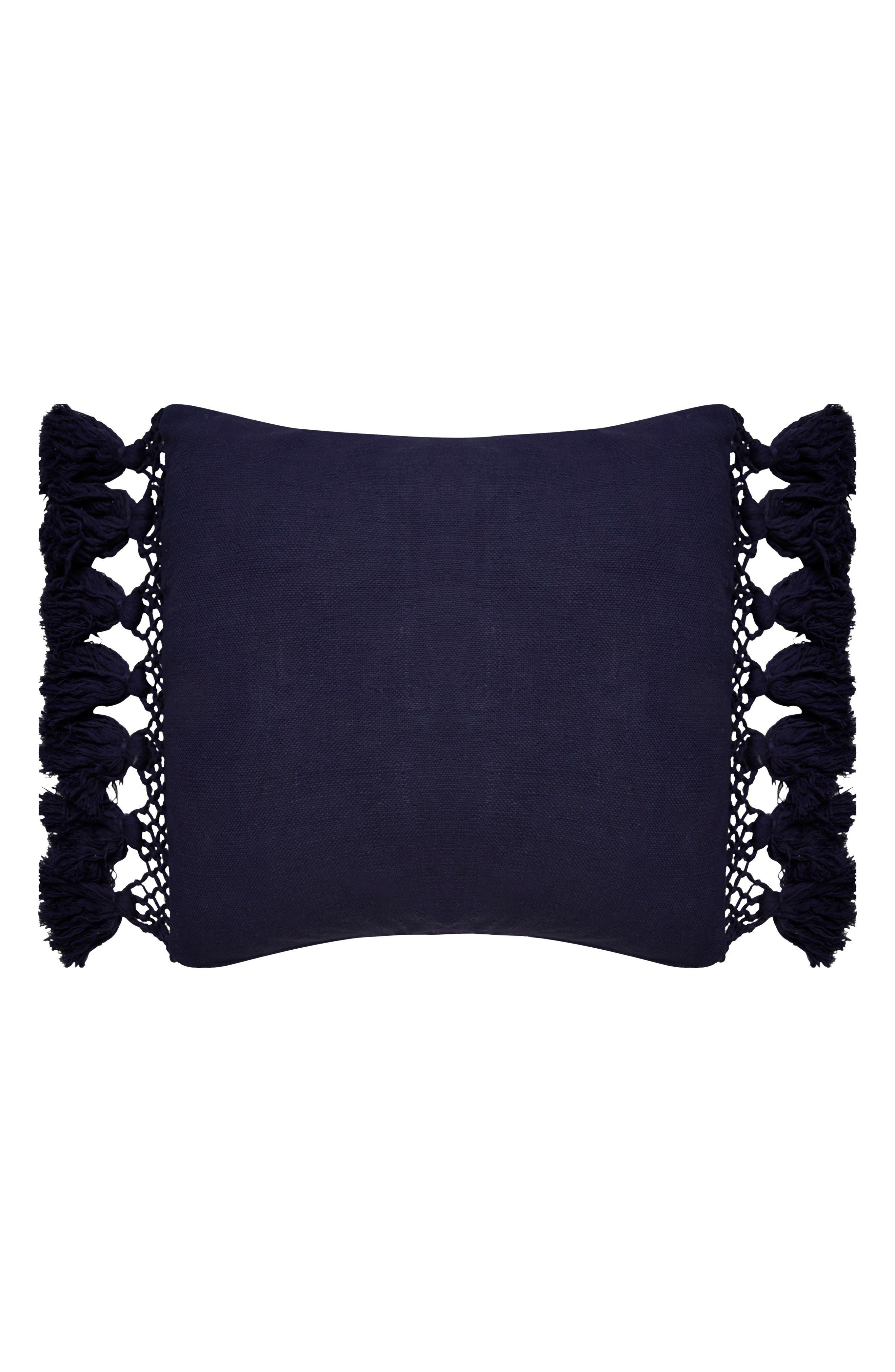 kate spade new york tassel accent pillow
