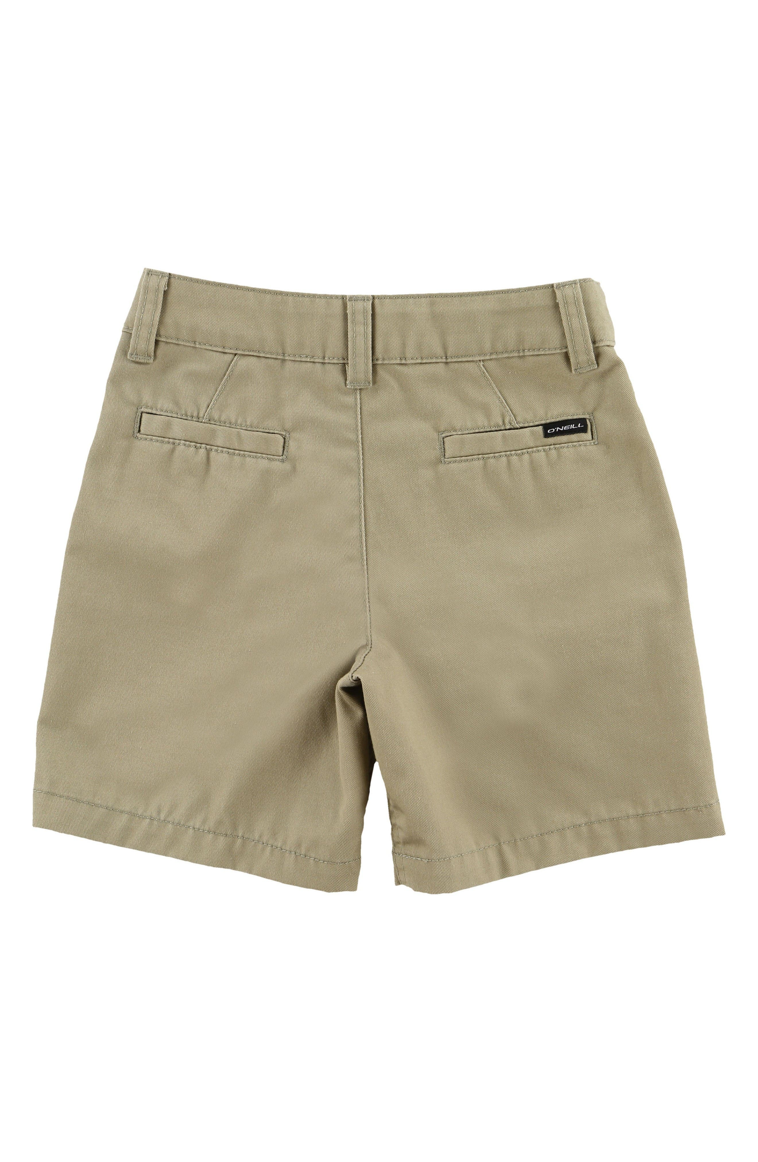 Contact Twill Walking Shorts,                             Alternate thumbnail 2, color,                             Oneill Kha