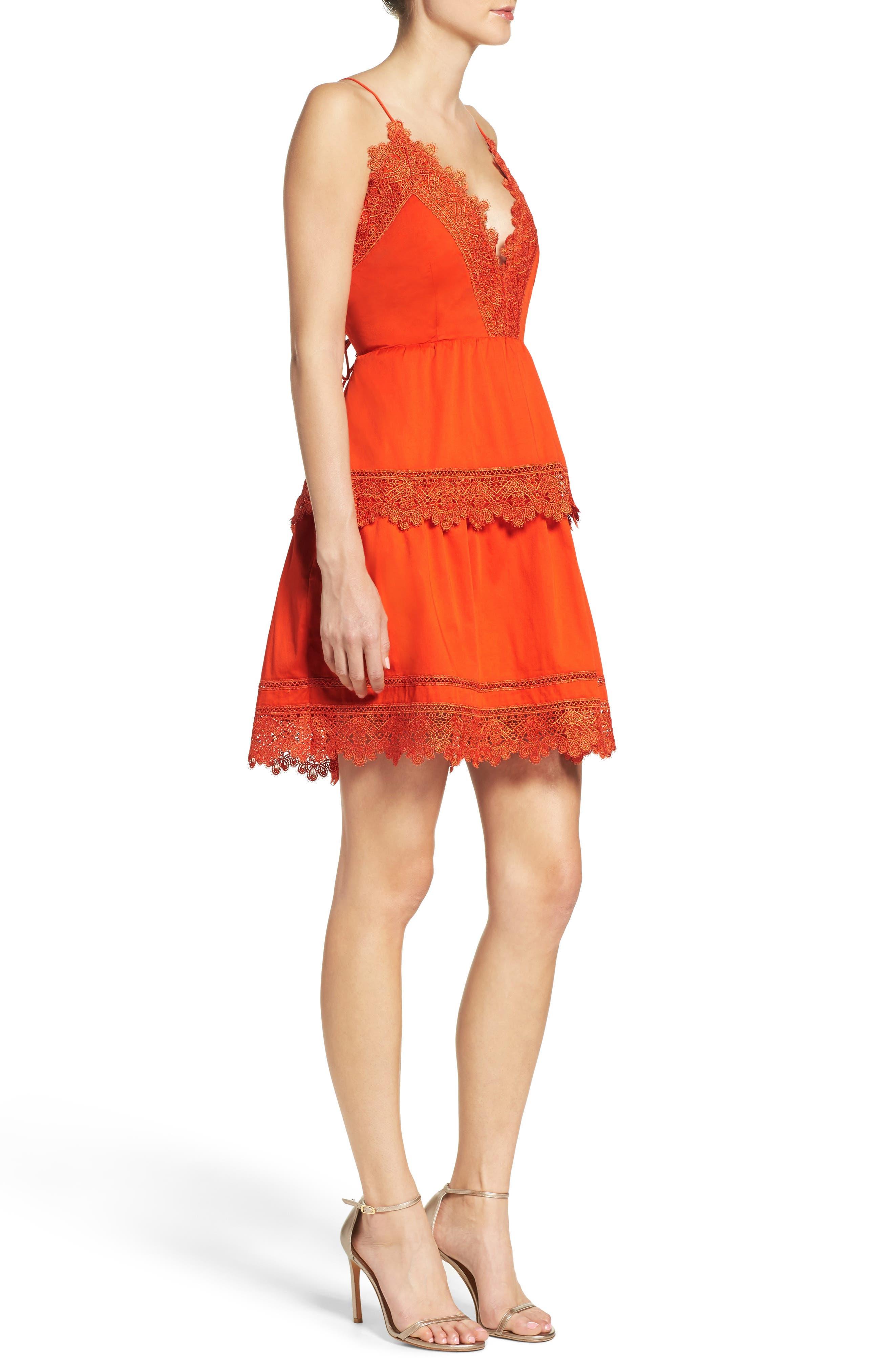 Alternate Image 4  - Bardot Sophia Peplum Dress