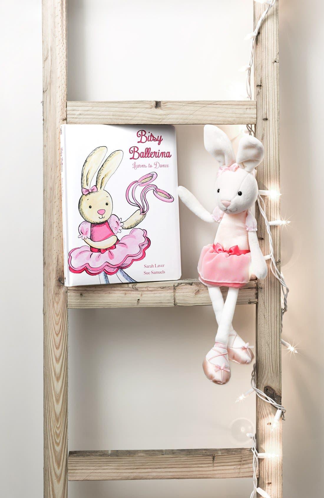 'Bitsy Ballerina Bunny' Stuffed Animal,                             Alternate thumbnail 3, color,