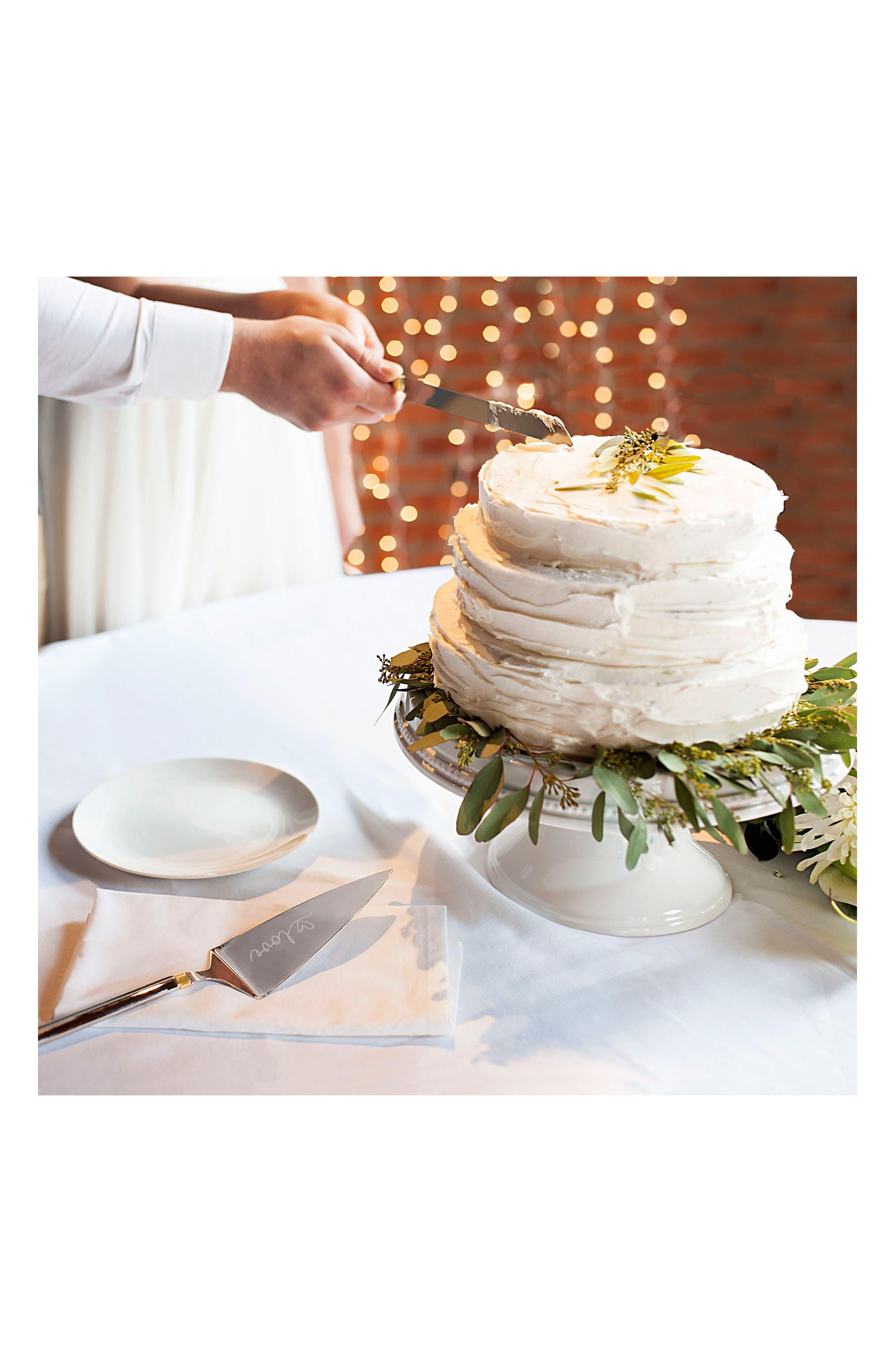 Alternate Image 7  - Cathy's Concepts Golden Love Cake Server Set