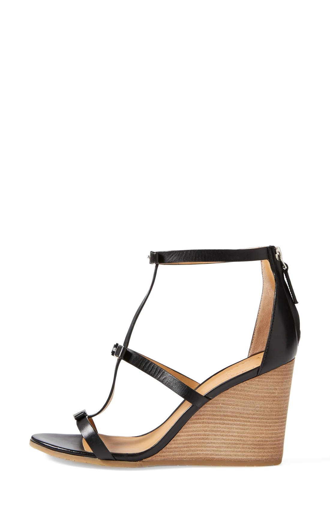 Alternate Image 4  - MARC BY MARC JACOBS Cube Bow Leather Wedge Sandal (Women)