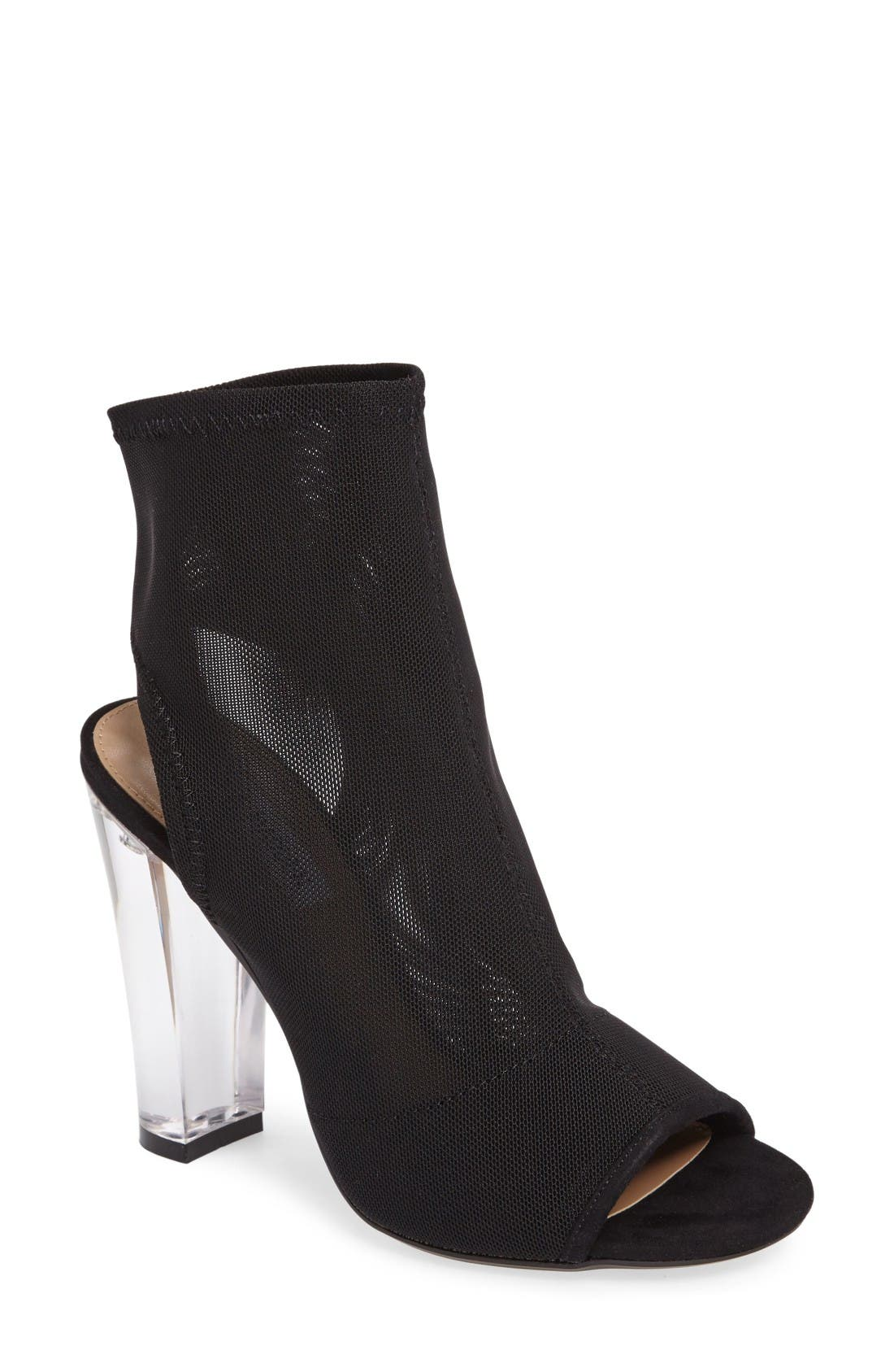 Viola Bootie,                         Main,                         color, Black