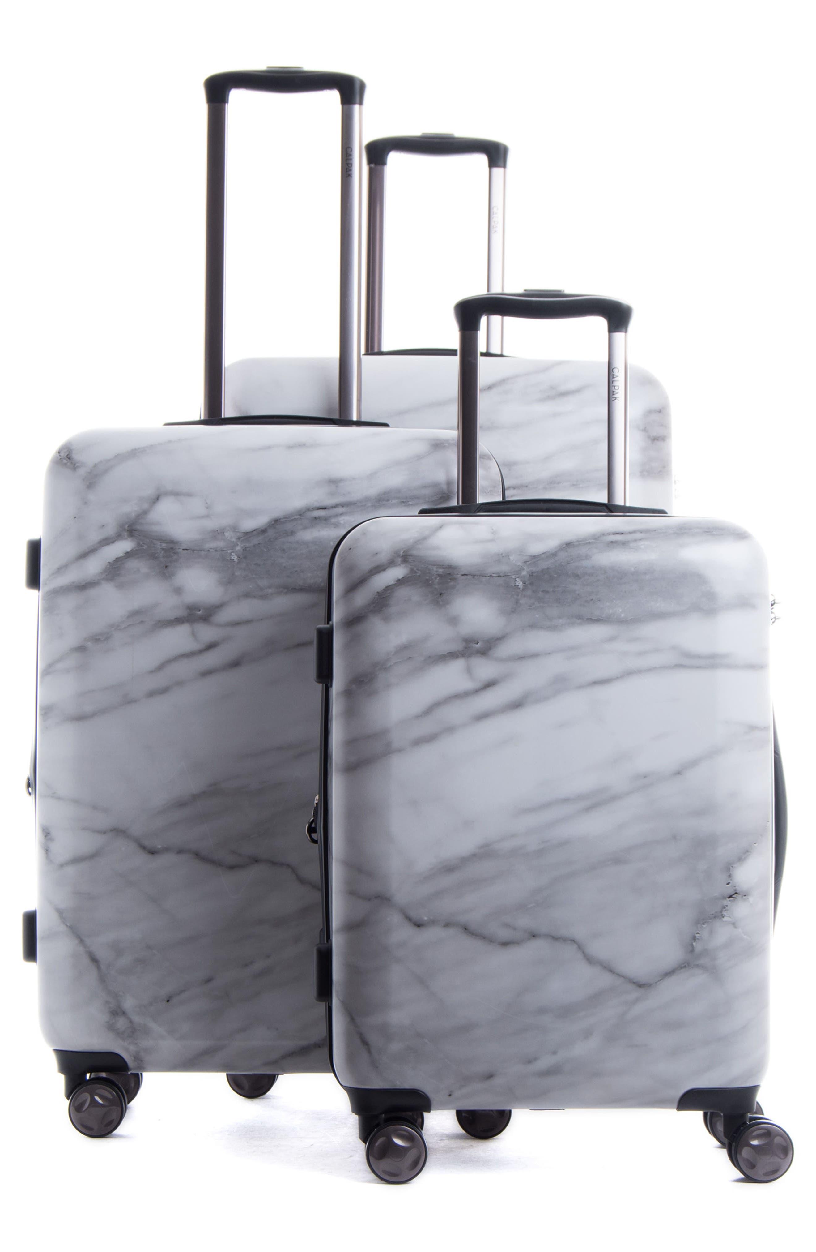 Alternate Image 2  - CALPAK Astyll 3-Piece Marbled Luggage Set
