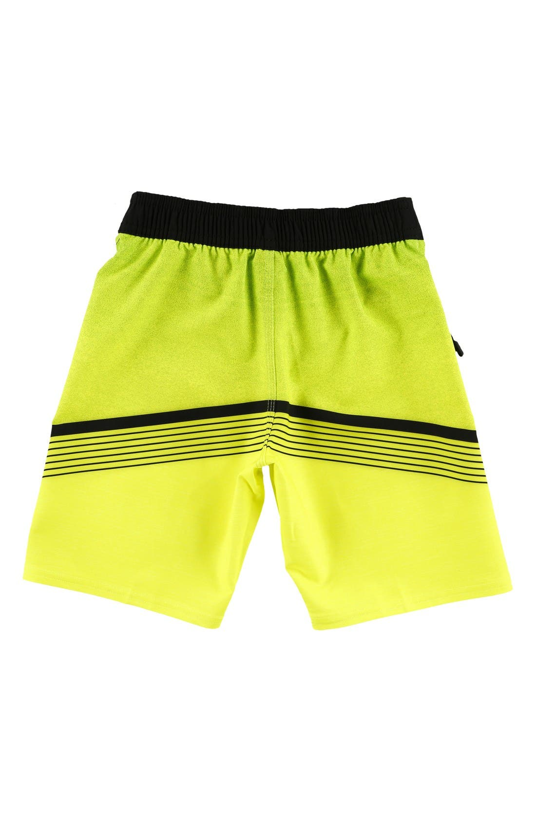 Hyperfreak Stretch Board Shorts,                             Alternate thumbnail 2, color,                             Neon Green
