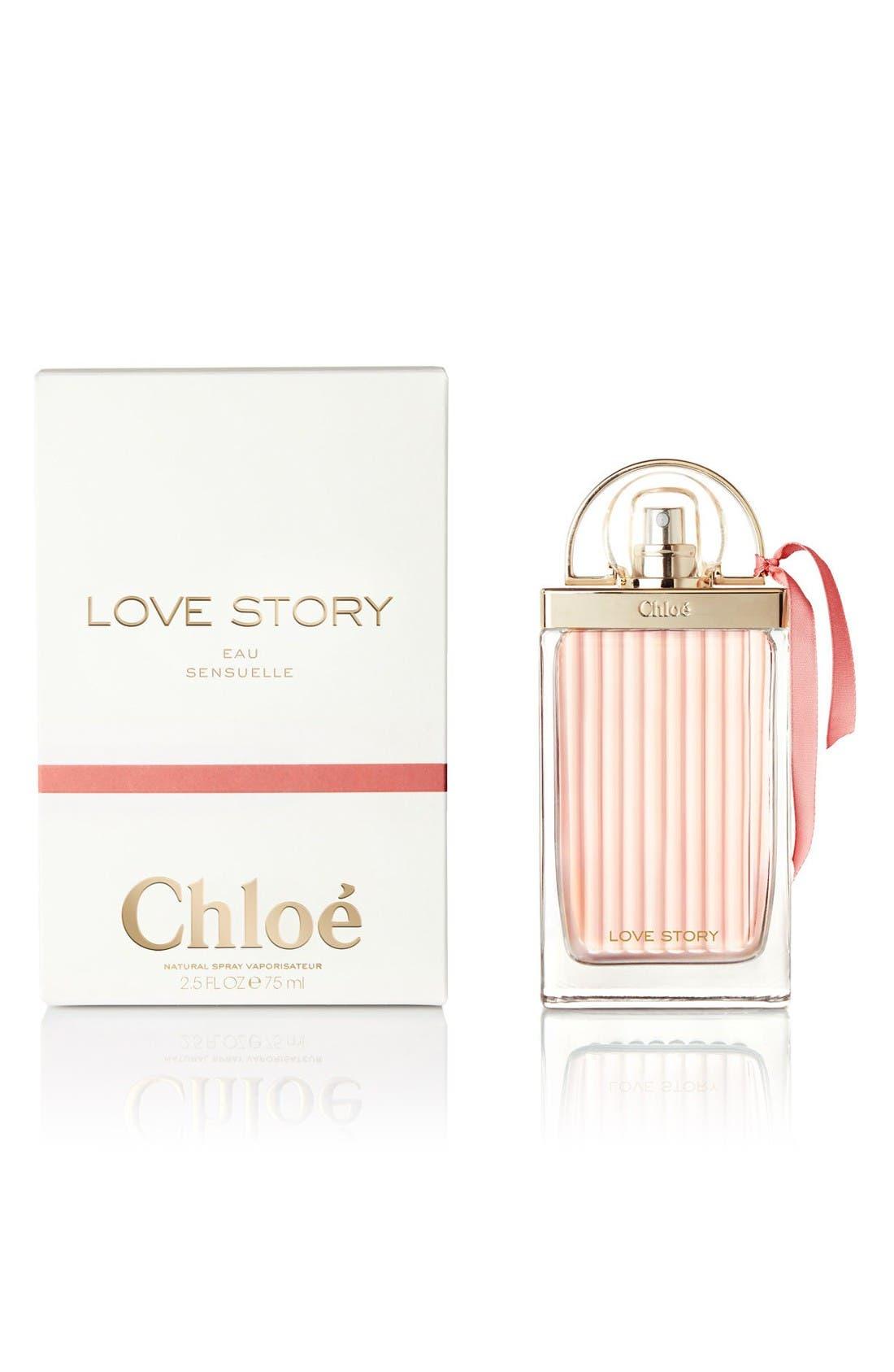 Love Story Eau Sensualle Eau de Parfum,                             Alternate thumbnail 2, color,                             No Color