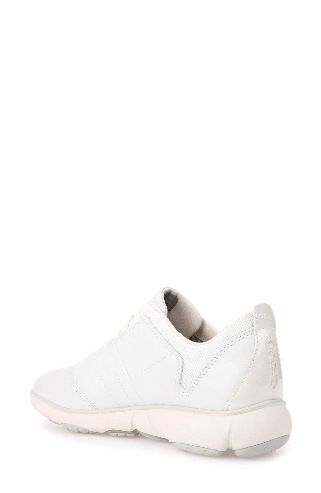 Nebula Slip-On Sneaker,                             Alternate thumbnail 2, color,                             White Leather