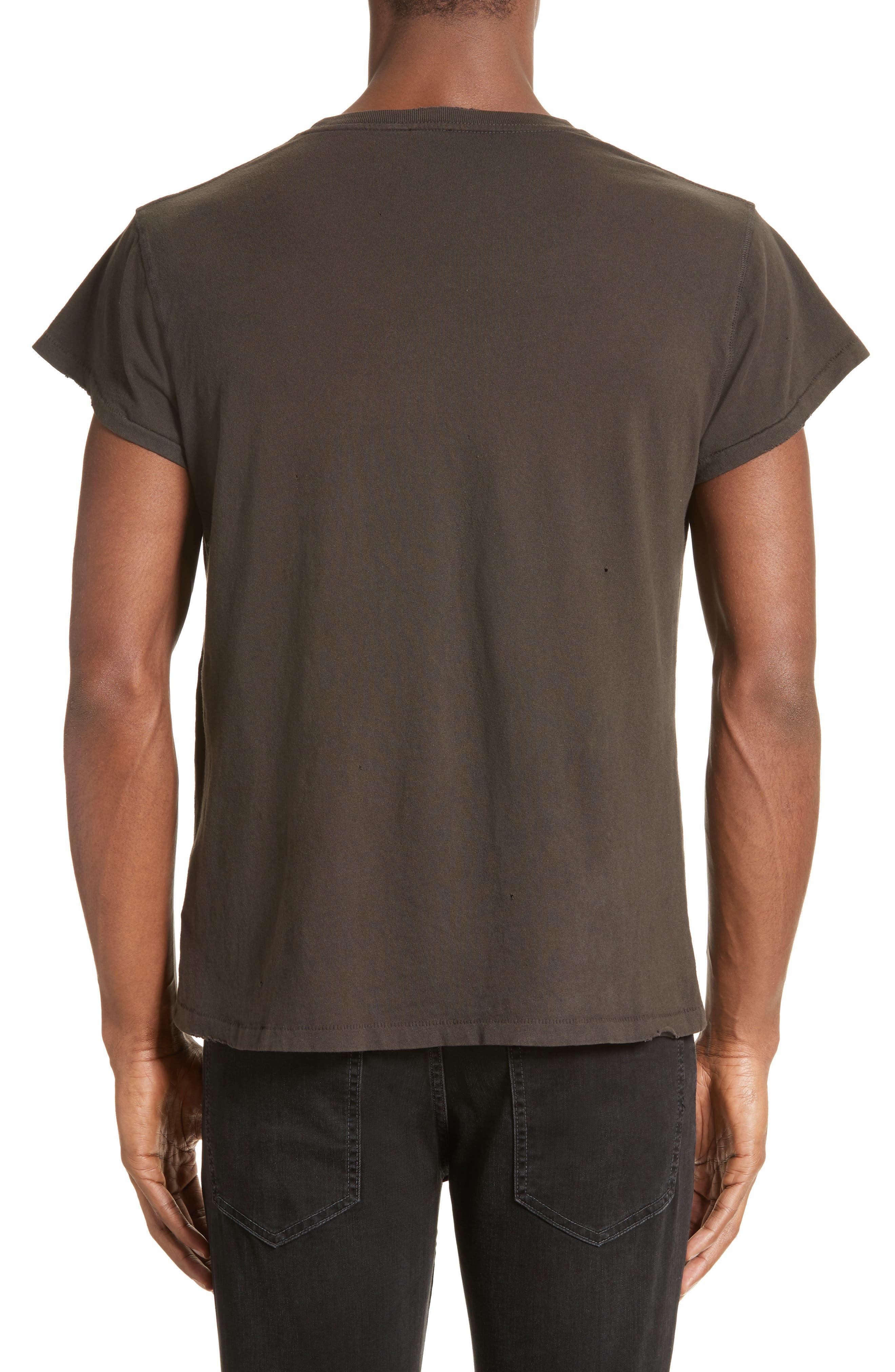 Alternate Image 2  - MadeWorn Rolling Stones Europe '82 Studded Graphic T-Shirt