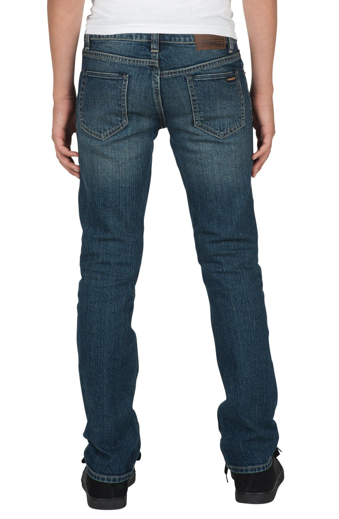 Alternate Image 2  - Volcom 'Vorta' Slim Fit Jeans (Toddler Boys & Little Boys)