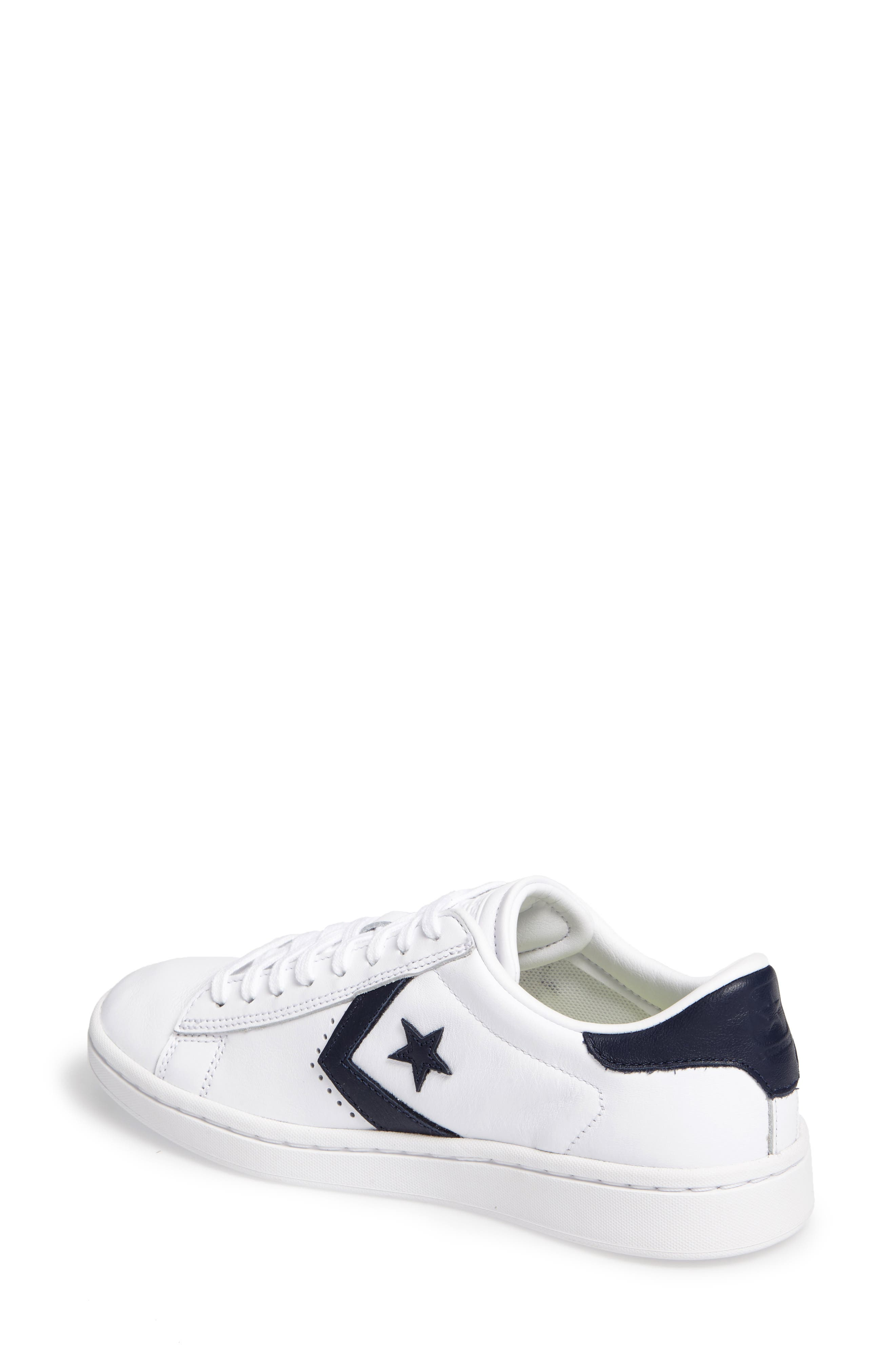 Alternate Image 2  - Converse Pro Leather LP Sneaker (Women)