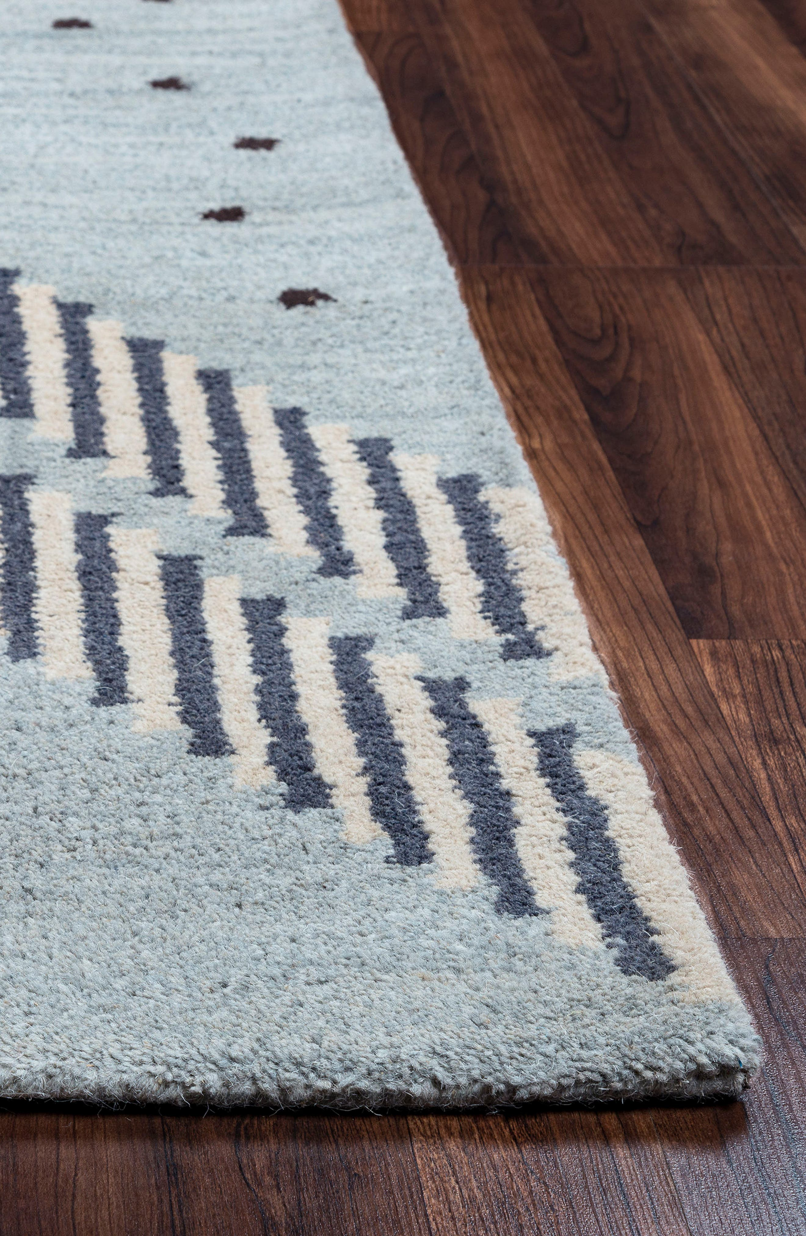 Alternate Image 2  - Rizzy Home 'Tumble Weed Loft' Hand Tufted Wool Area Rug