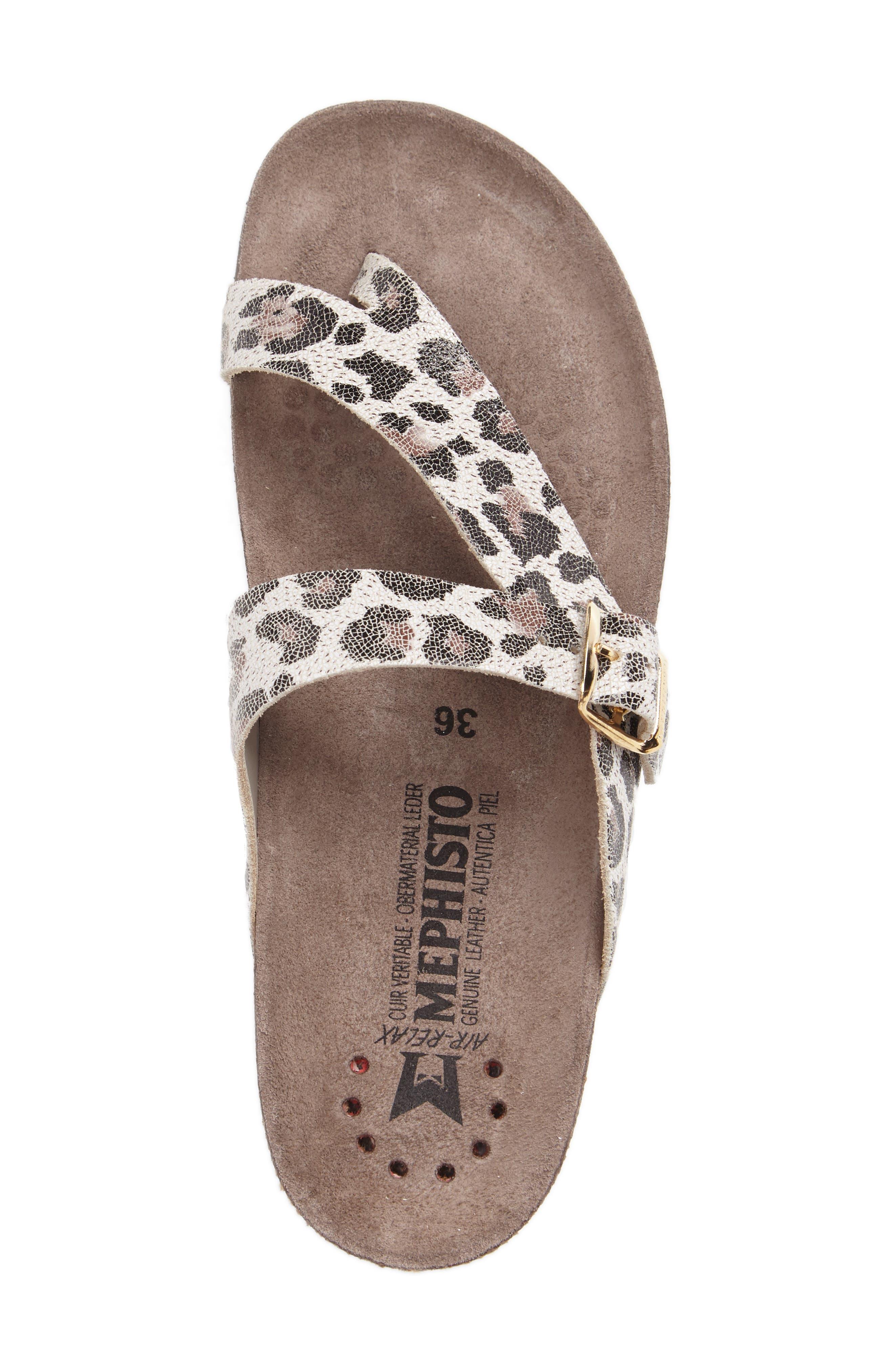 'Helen' Sandal,                             Alternate thumbnail 3, color,                             Light Sand Calfskin Leather